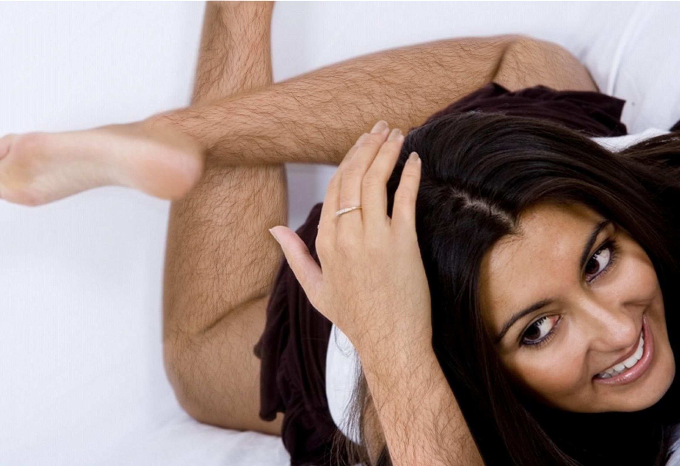 Волосы на теле у девушек