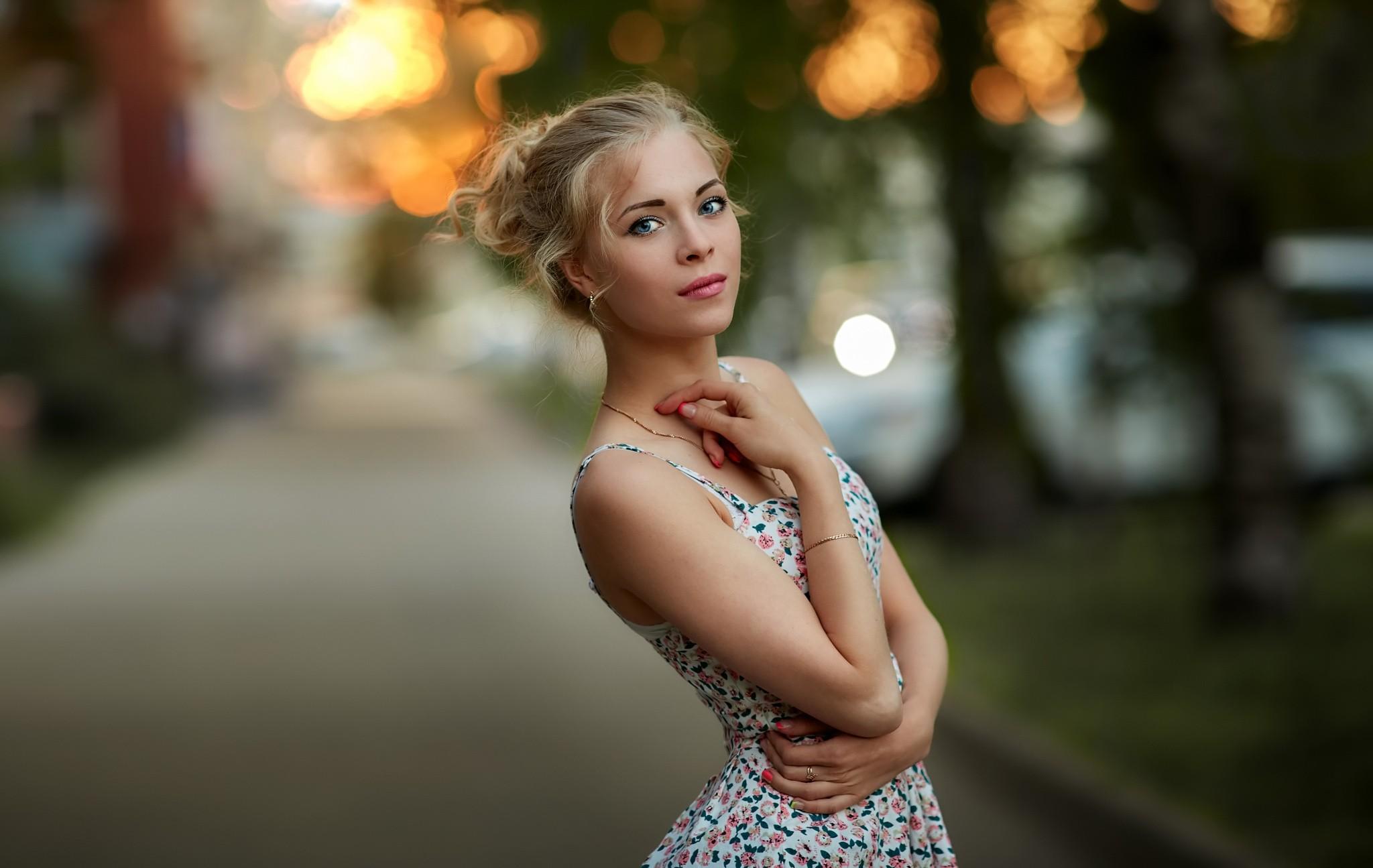 Как фотографировать портрет с размытым фоном