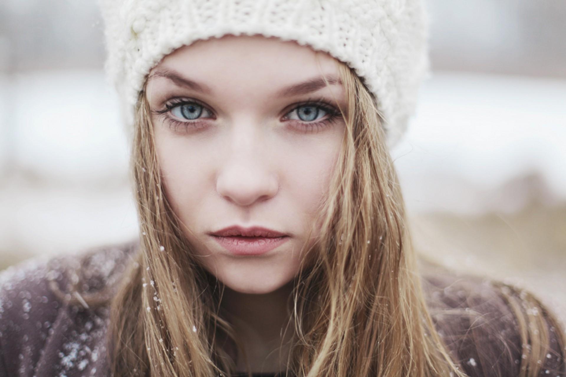 Women Blonde Blue Eyes Long Hair Wavy Hair Portrait: Hintergrundbilder : Gesicht, Frau, Modell-, Porträt, Blond