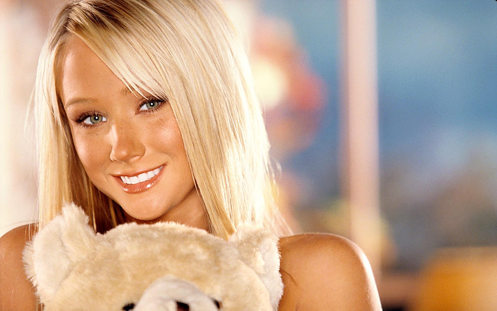 Wallpaper Face Women Model Blonde Long Hair Nose Skin