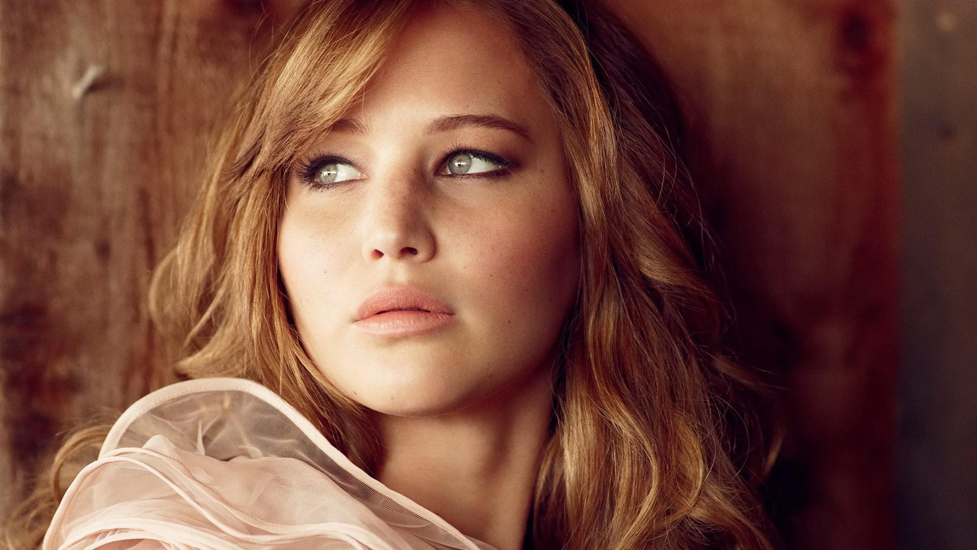 Wallpaper Face Women Blonde Long Hair Red Green Eyes Actor