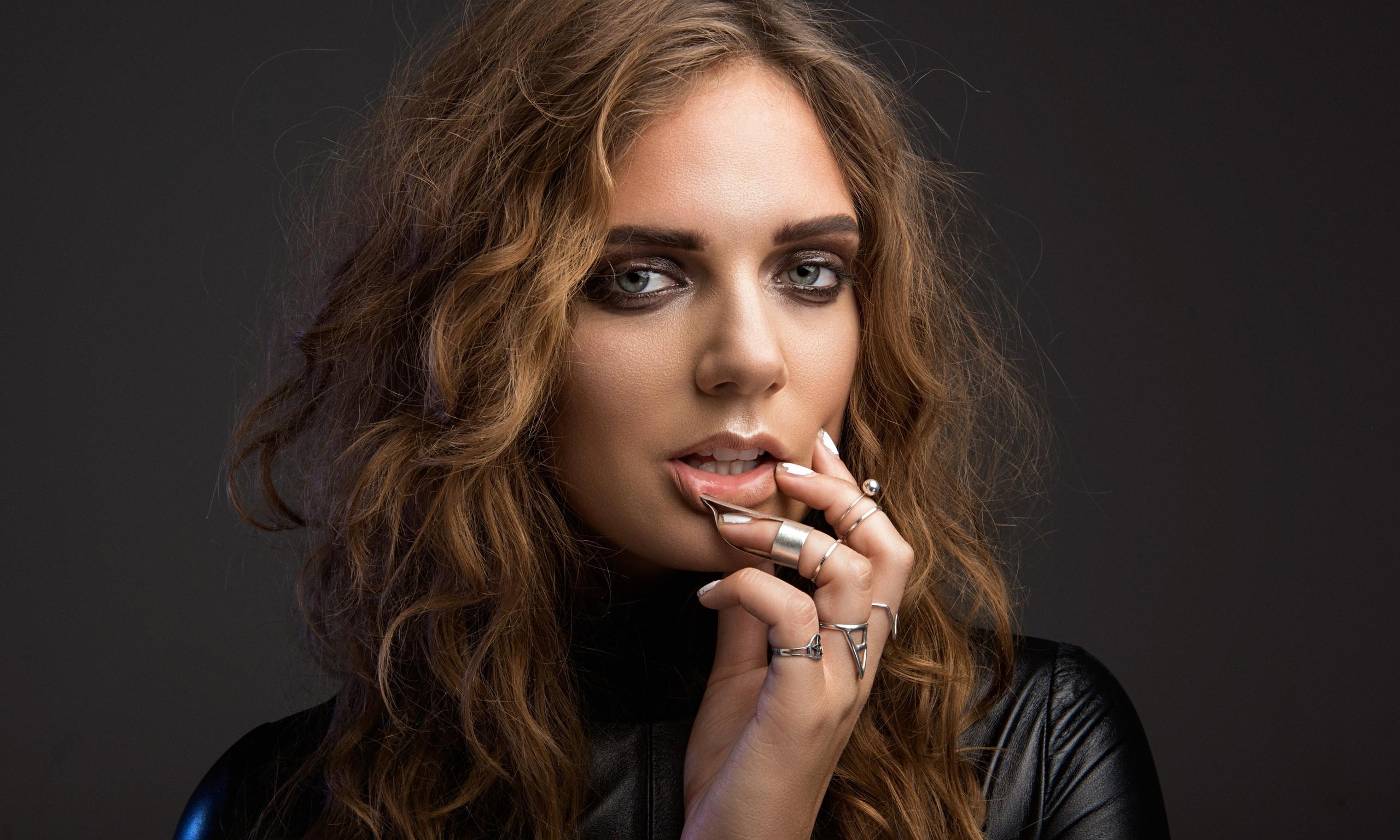Hintergrundbilder Gesicht Frau Modell Porträt Brünette