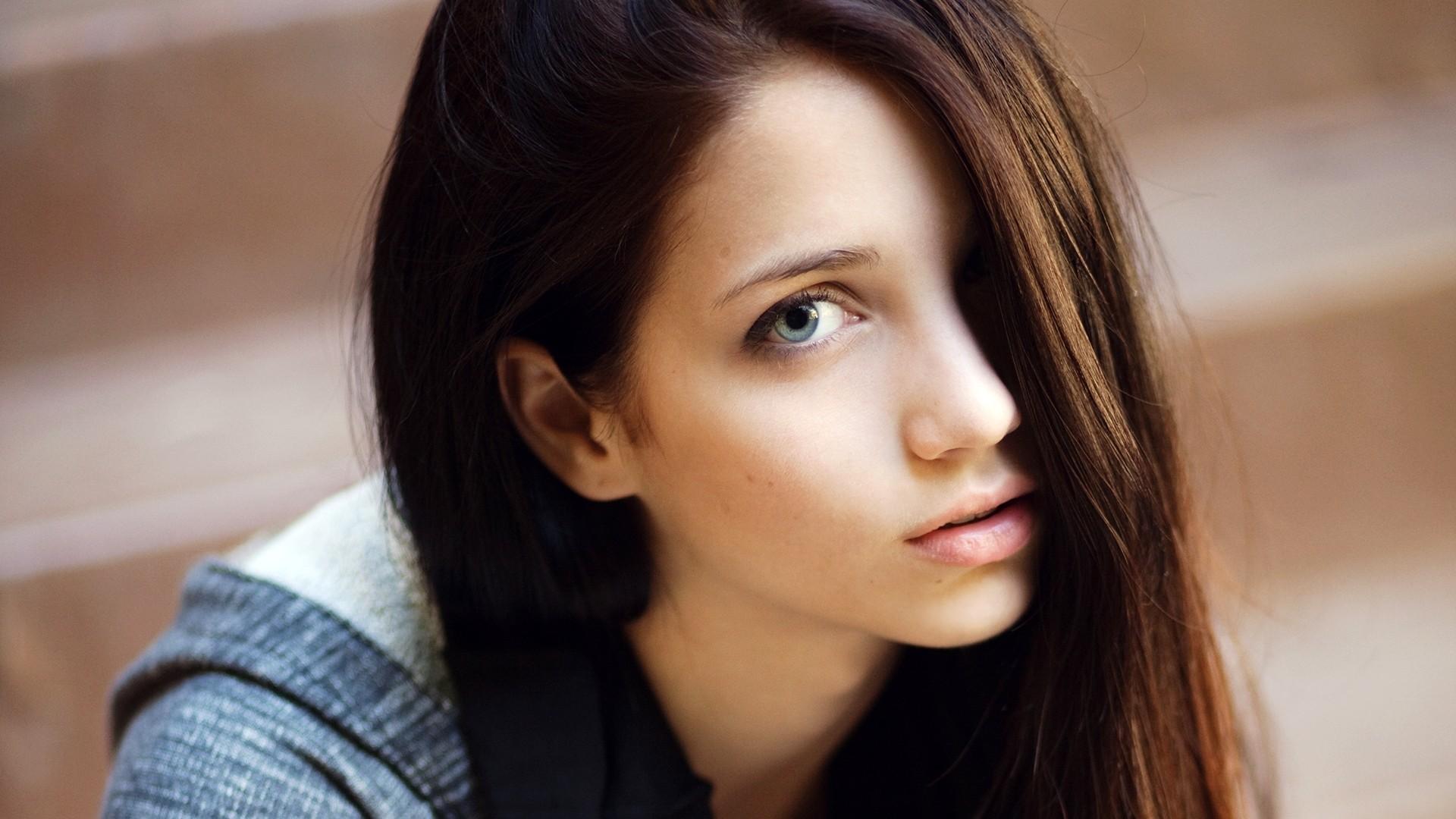 Hintergrundbilder : Gesicht, Frau, Modell-, Porträt