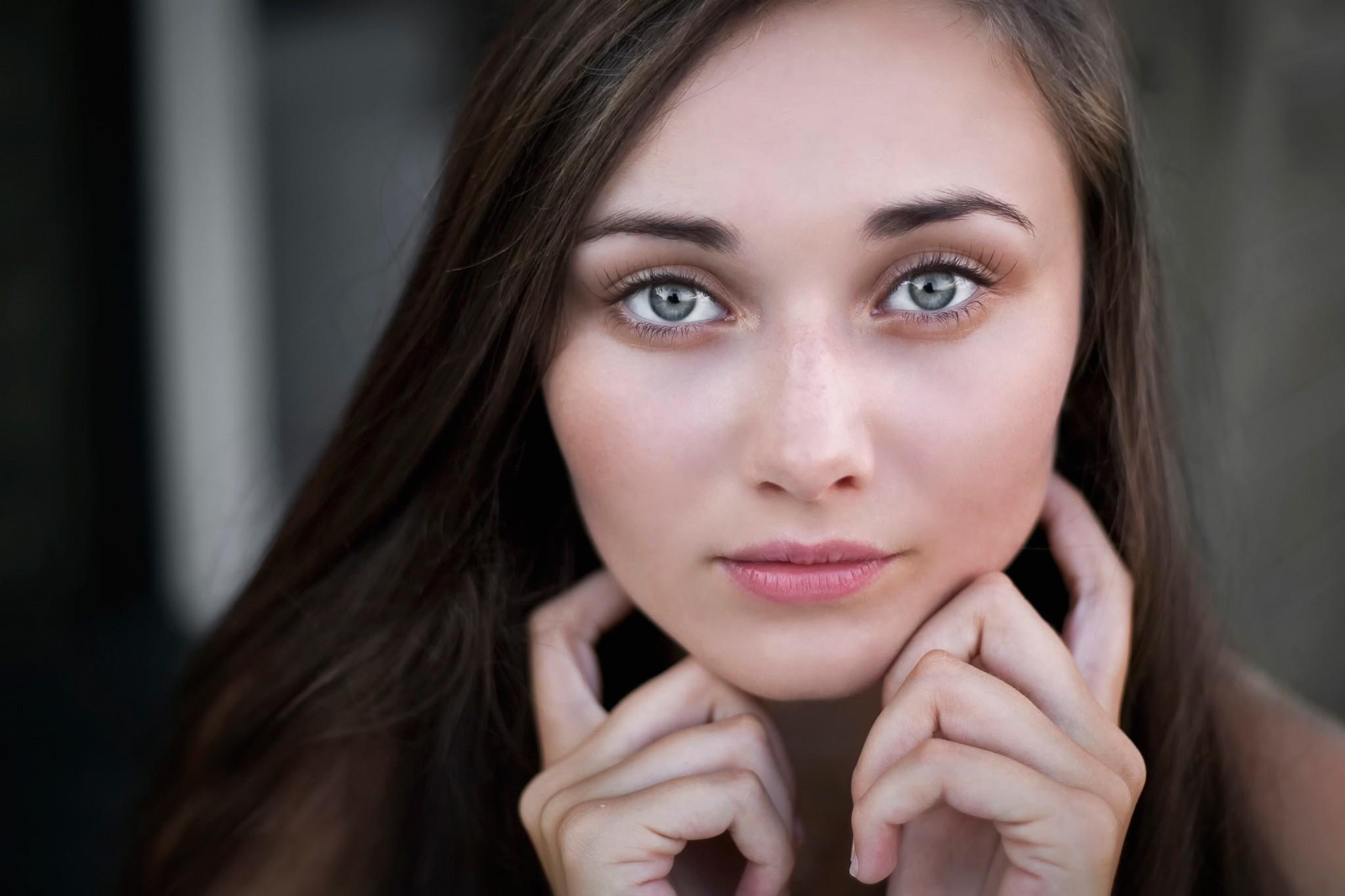 Картинки девушек лицо