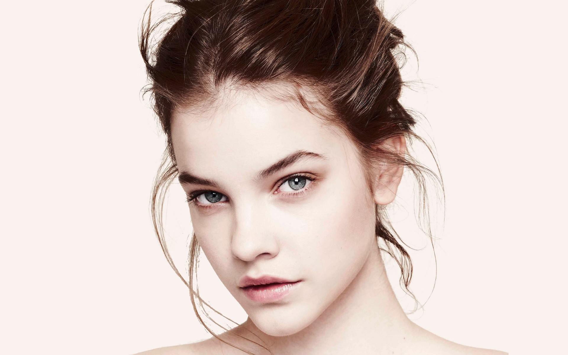 Wallpaper Face Women Model Singer Blue Mouth Nose