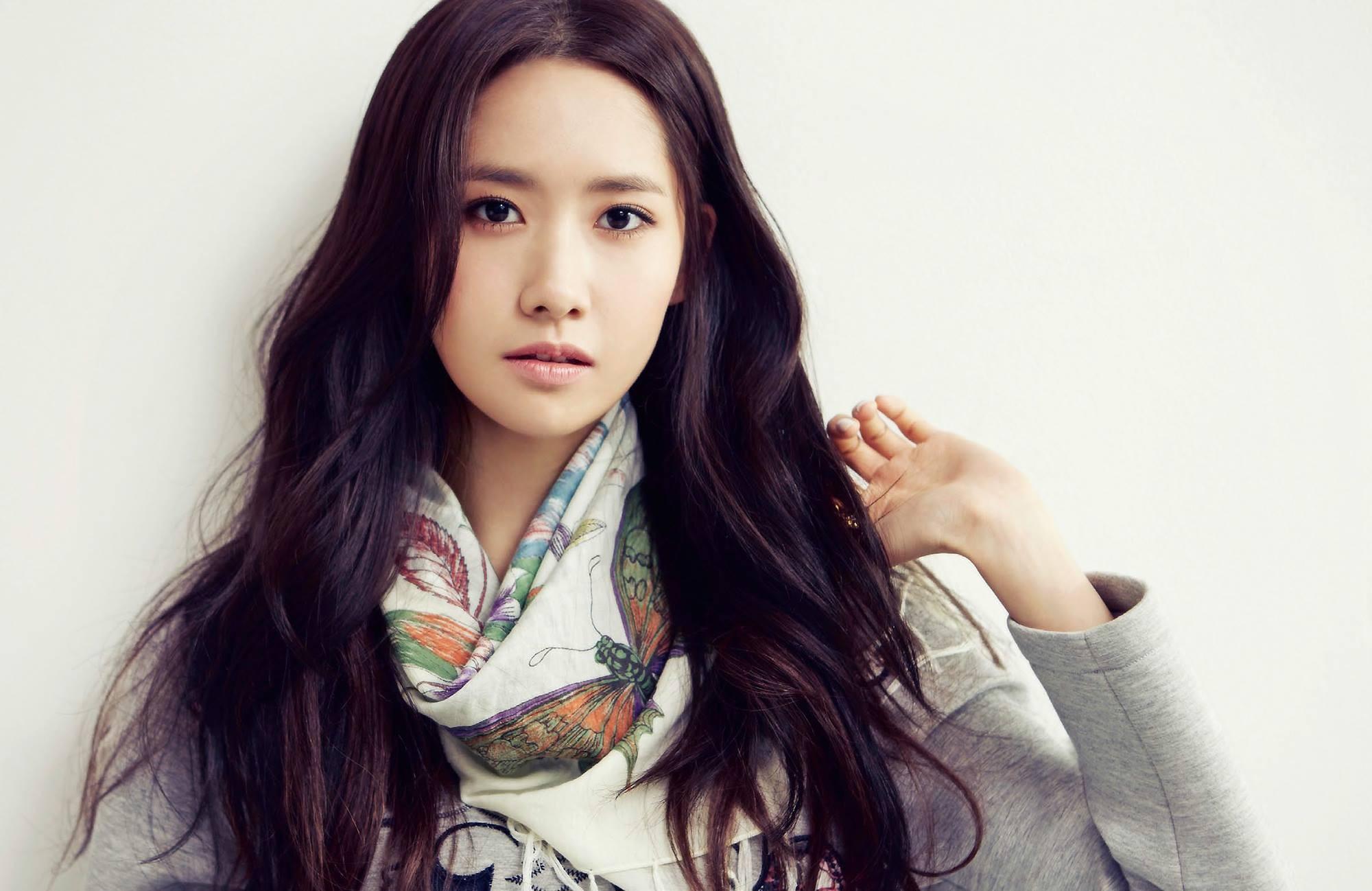 Wallpaper Women Model Long Hair Asian Singer Blue: Wallpaper : Face, Women, Long Hair, Brunette, Glasses
