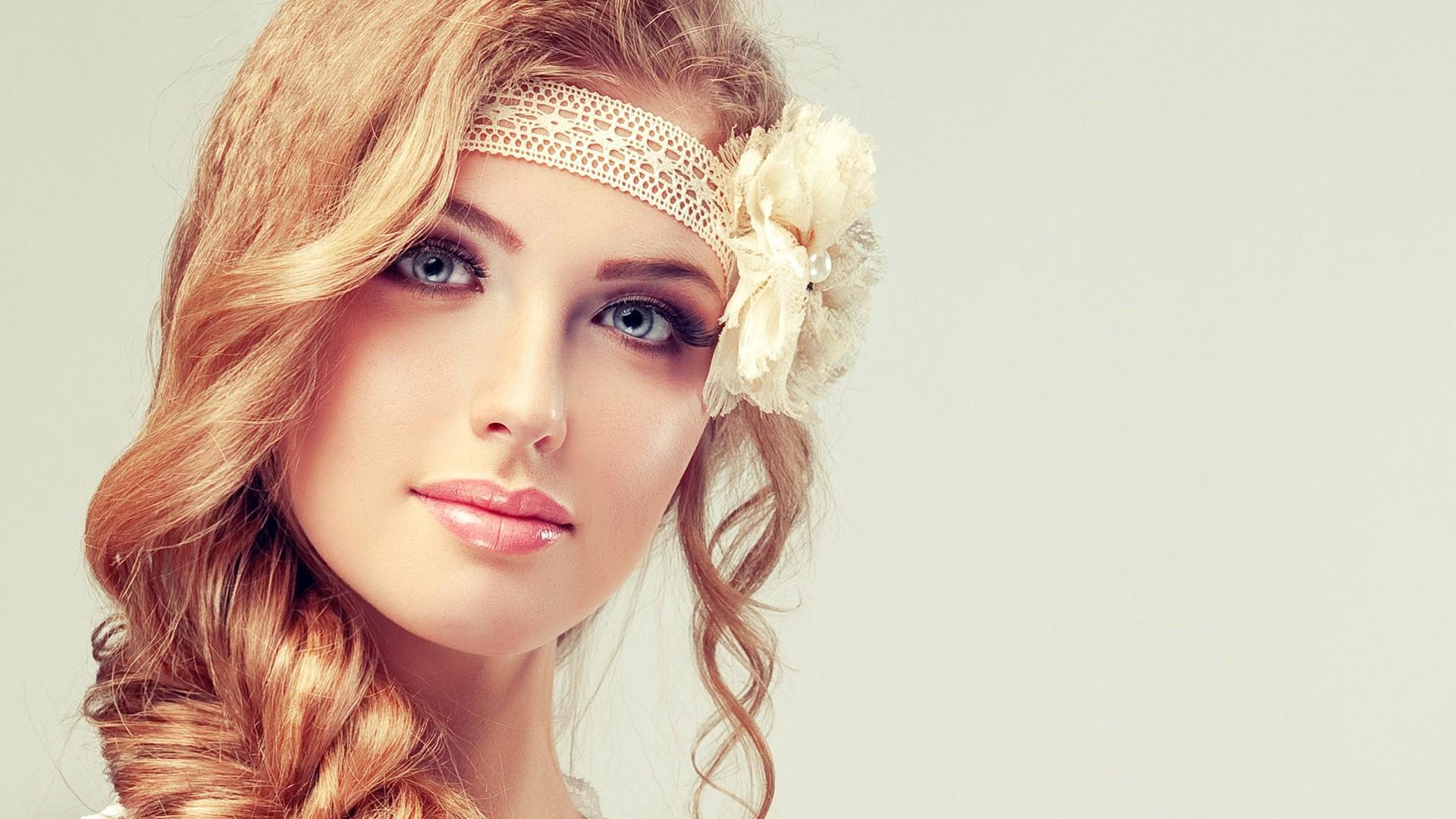 Картинки лица девушек с прическами