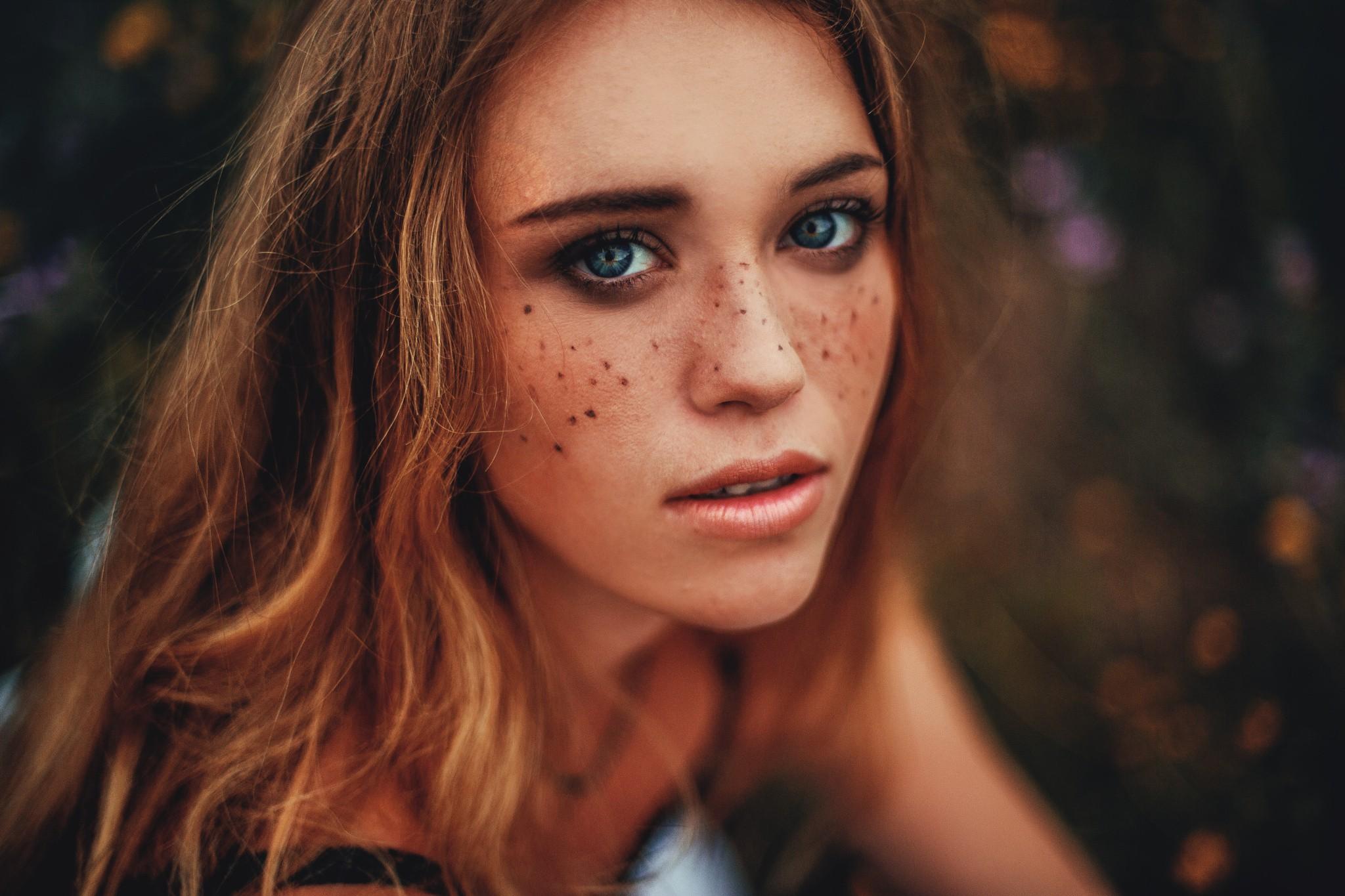 Картинки веснушки на лице