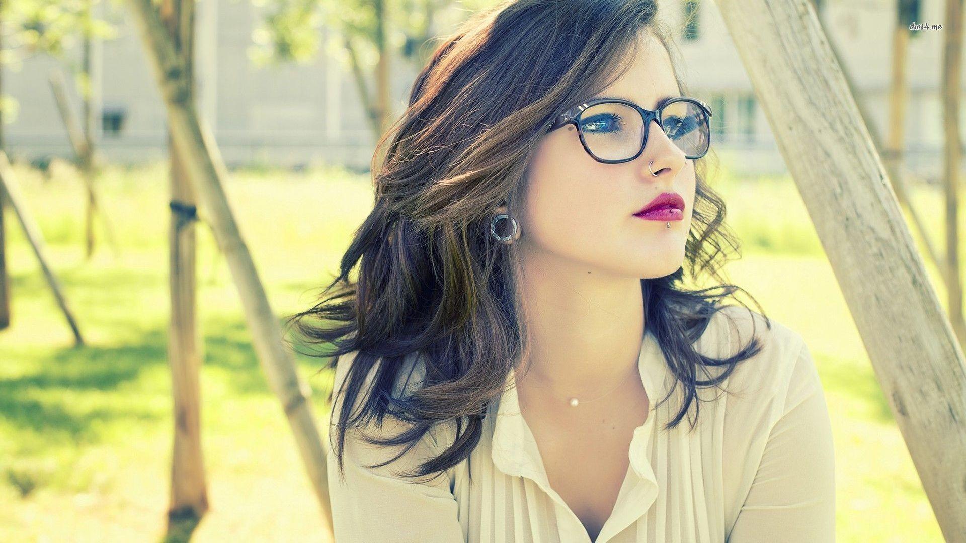 Wallpaper : Face, Model, Long Hair, Women With Glasses