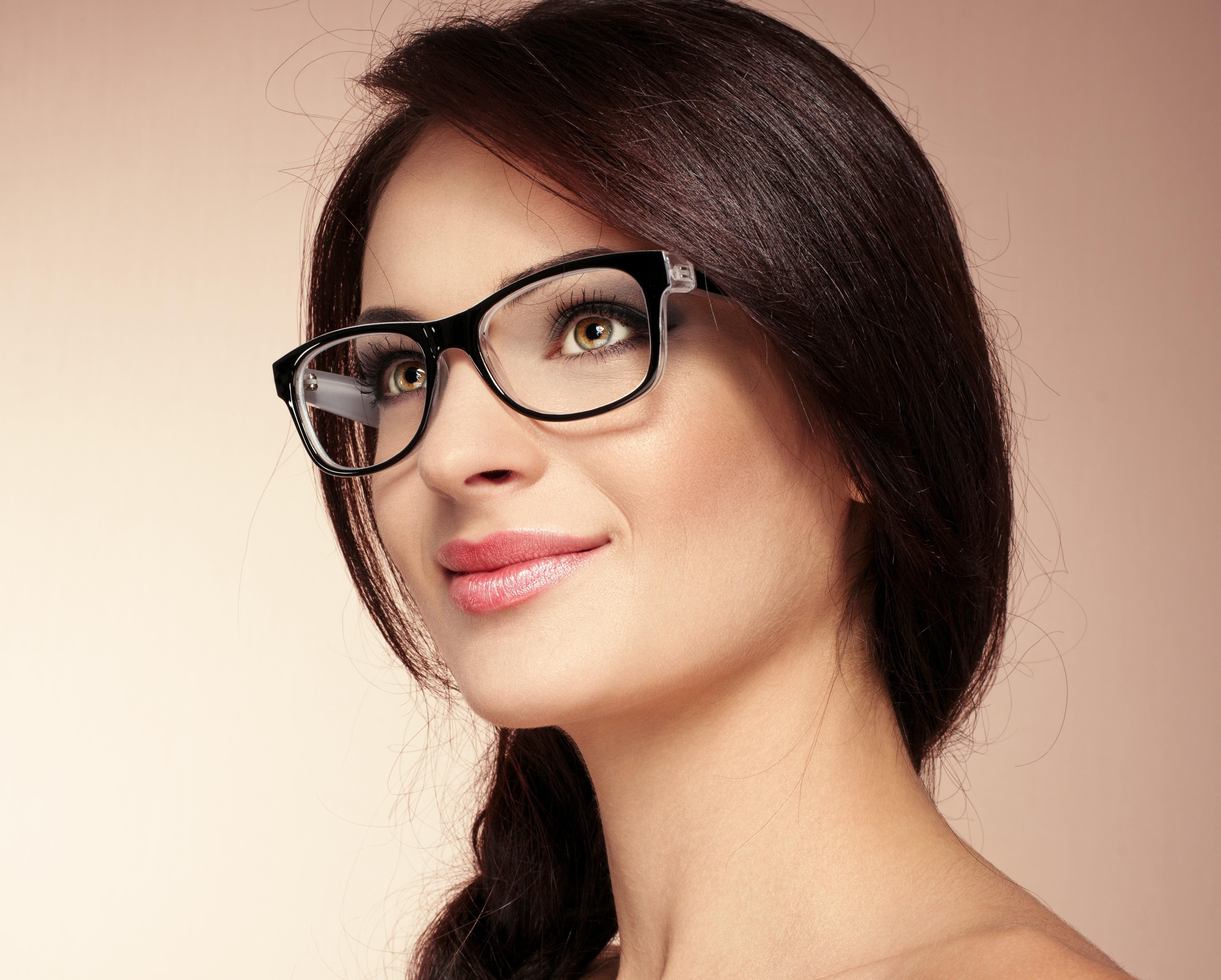 Картинка очки на лице