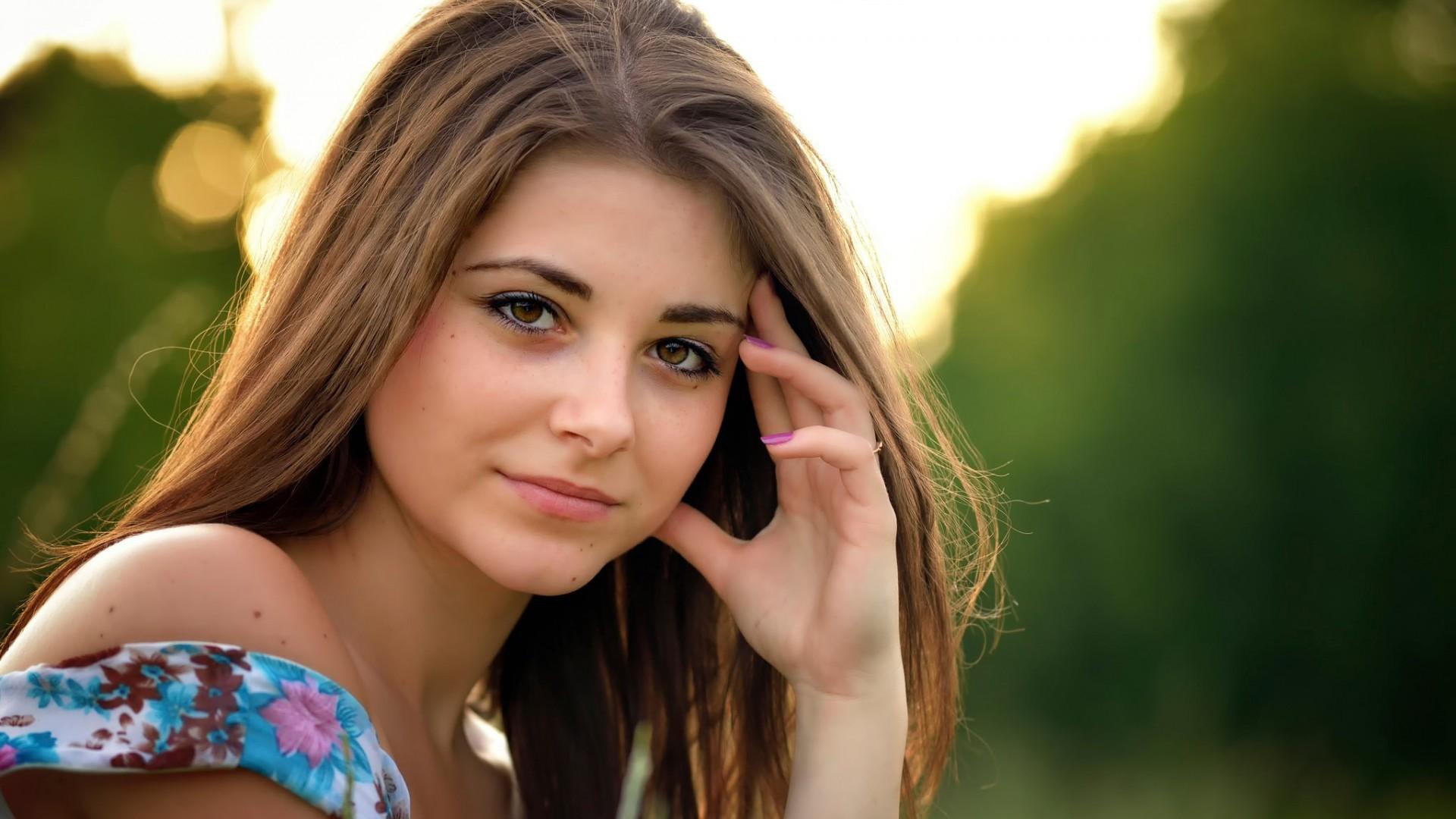 Очень качественное фото девушки