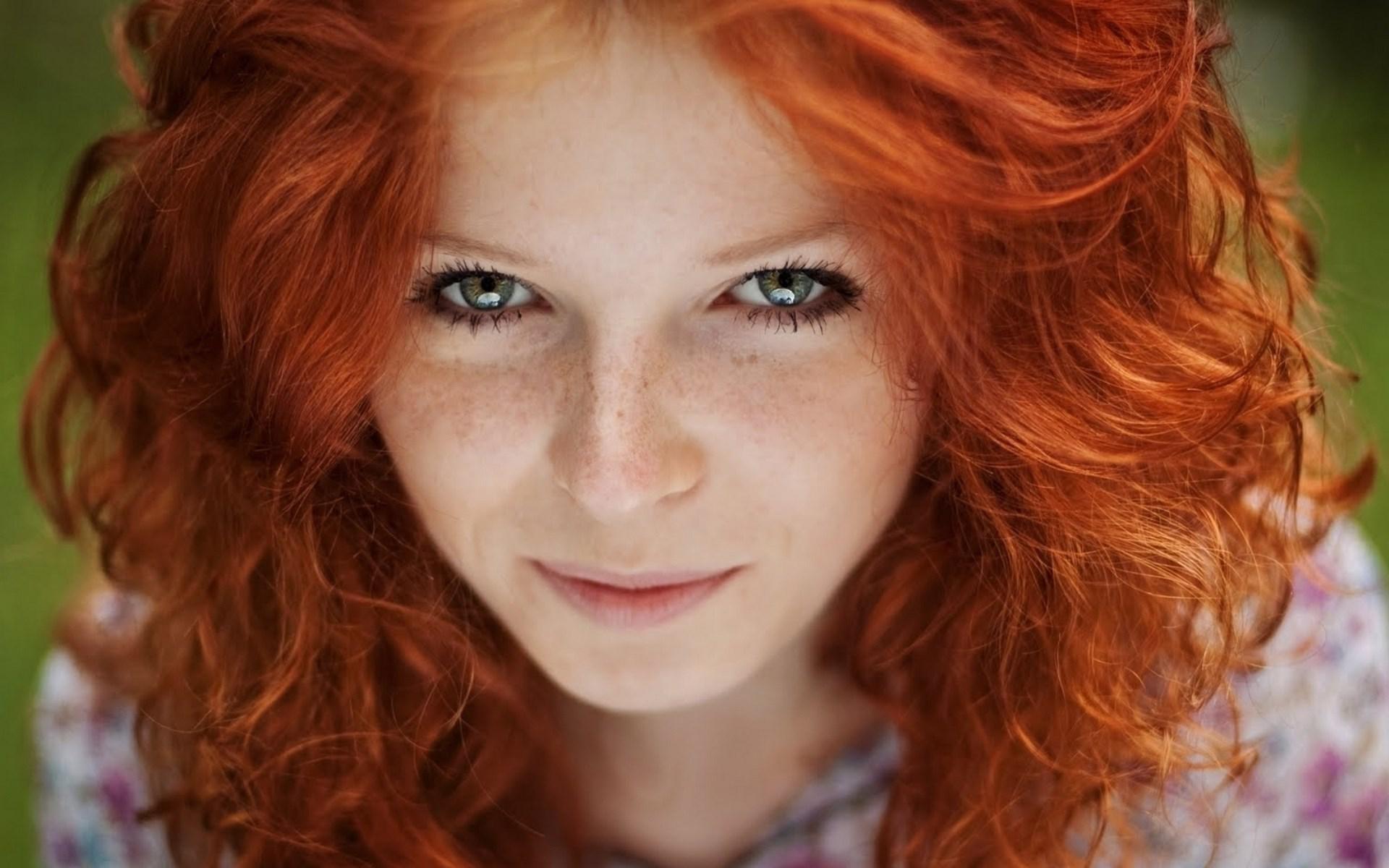 Sommersprossen blaue augen rote haare Rote Haare,