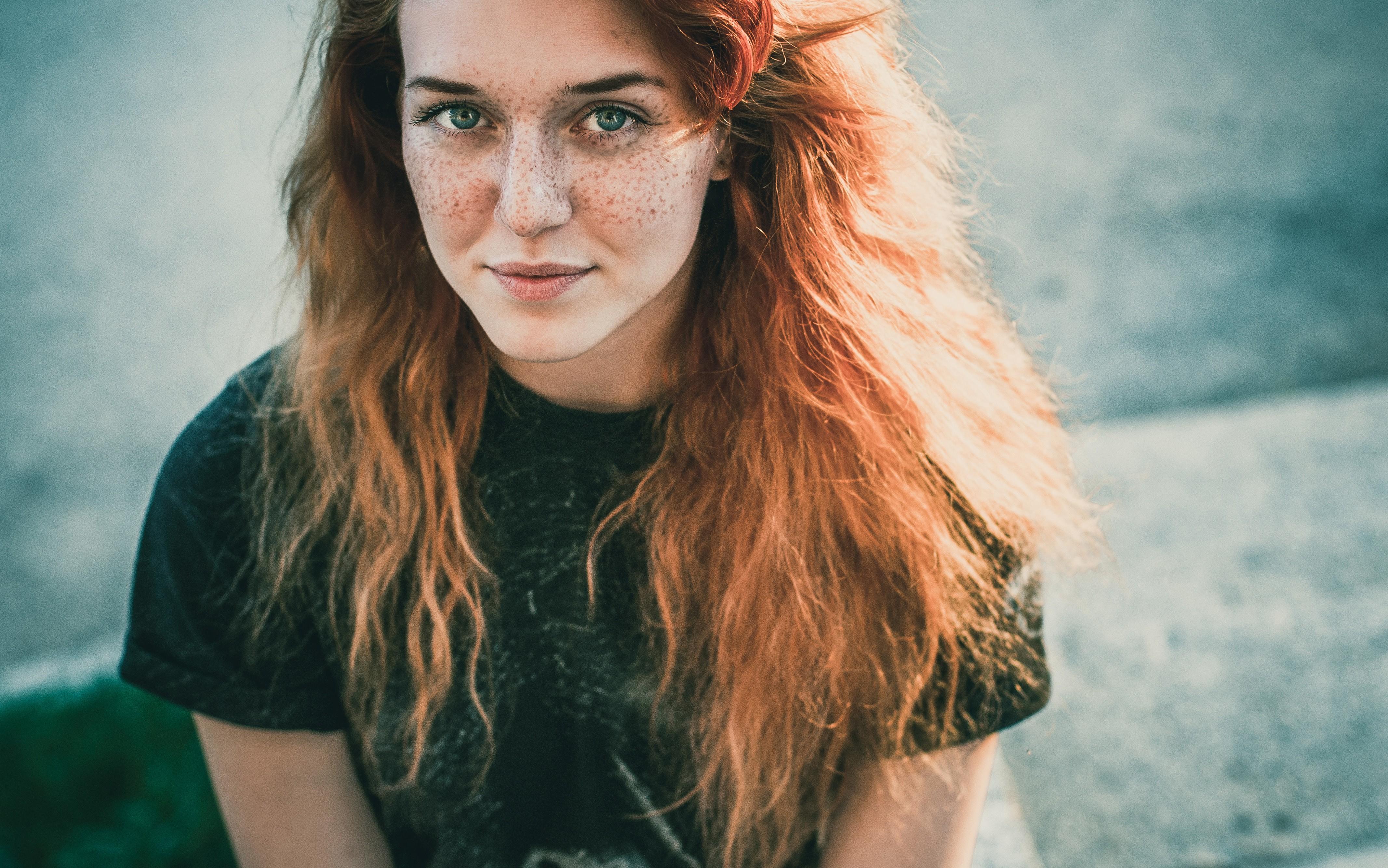 фото рыжий девушок