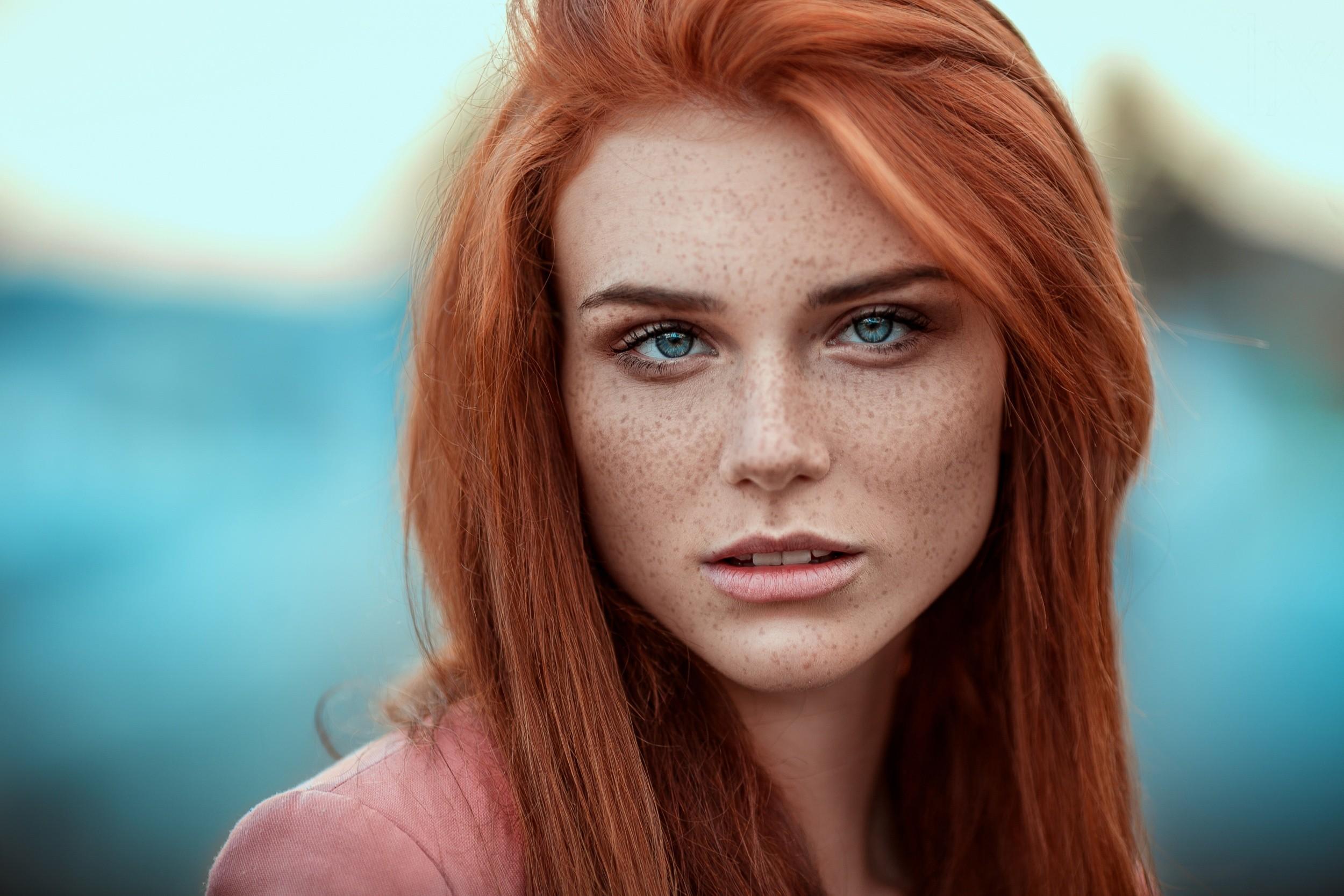 Girl portrait redhead