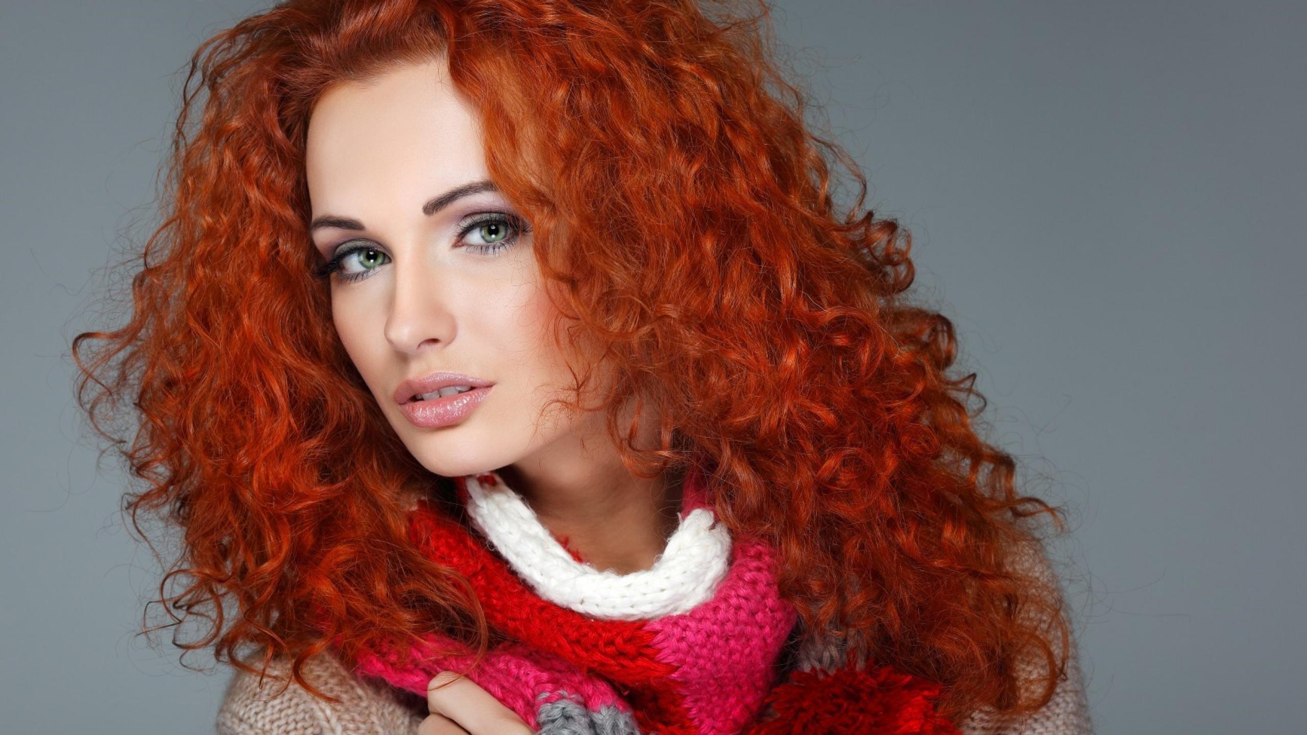 Tapety Twarz Kobiety Rudowłosy Model Portret Proste
