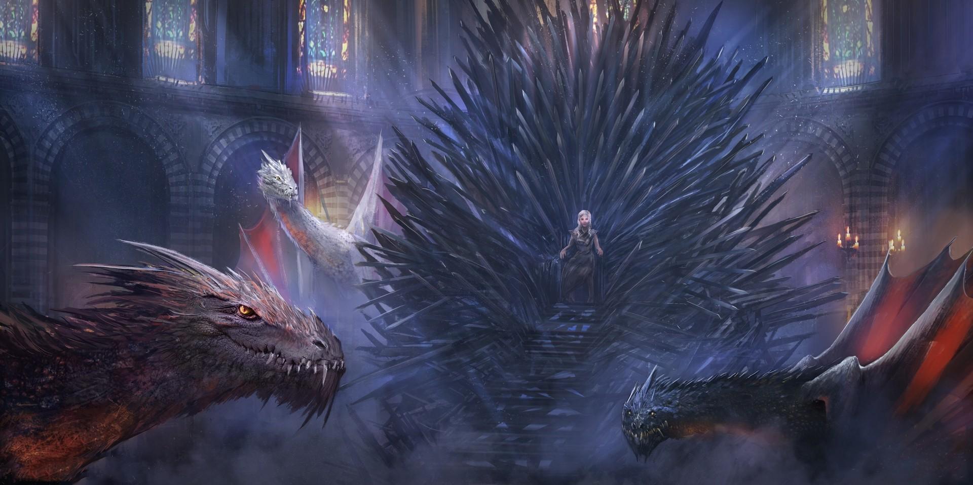 Wallpaper Fantasy Art Game Of Thrones Daenerys Targaryen Iron
