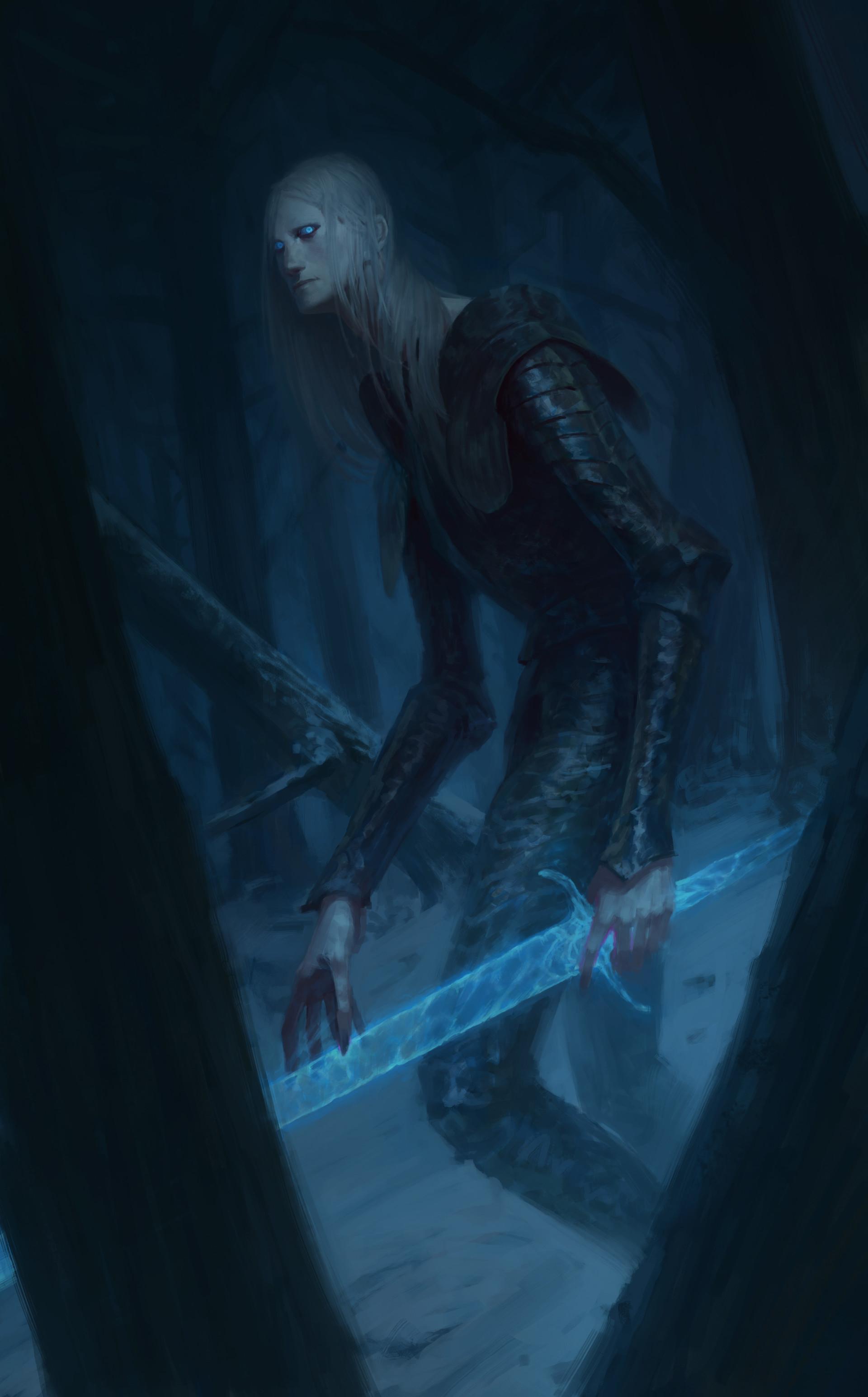 Wallpaper Fantasy Art Game Of Thrones White Walker 1920x3089