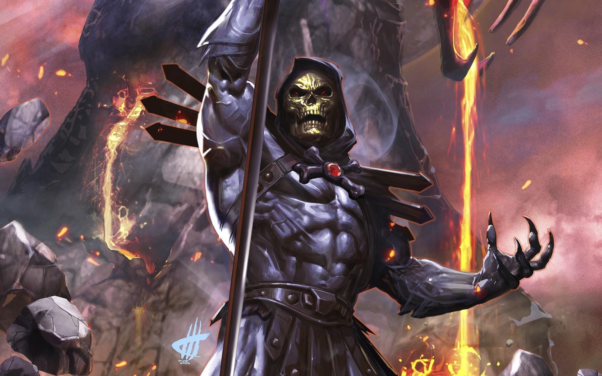 Fantasy Art He Man Comics Skeletor Mythology Games Screenshot Warlord 1920x1200 Px Computer Wallpaper Pc Game