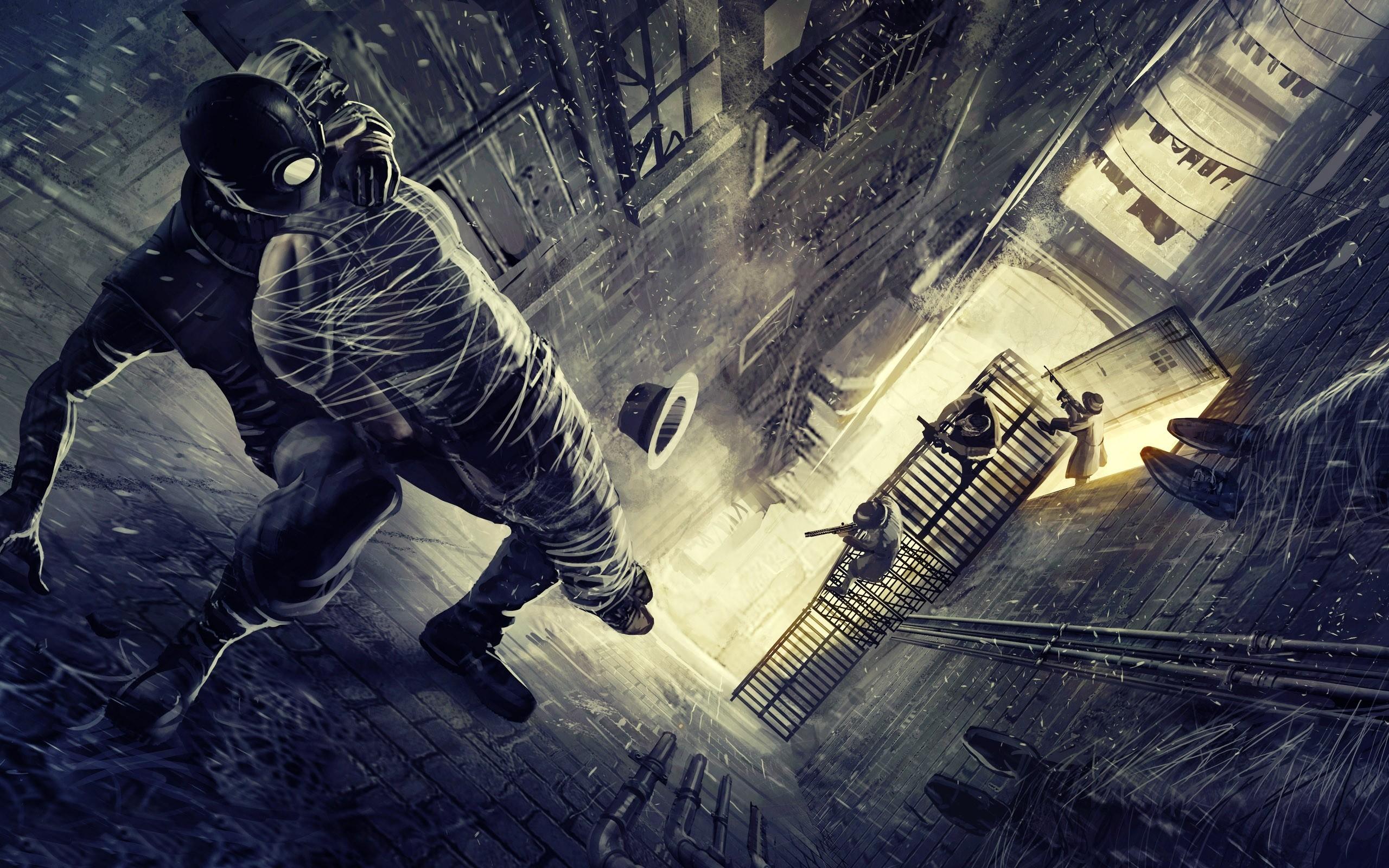 Wallpaper Fantasy Art Spider Man Comics Spider Man Noir