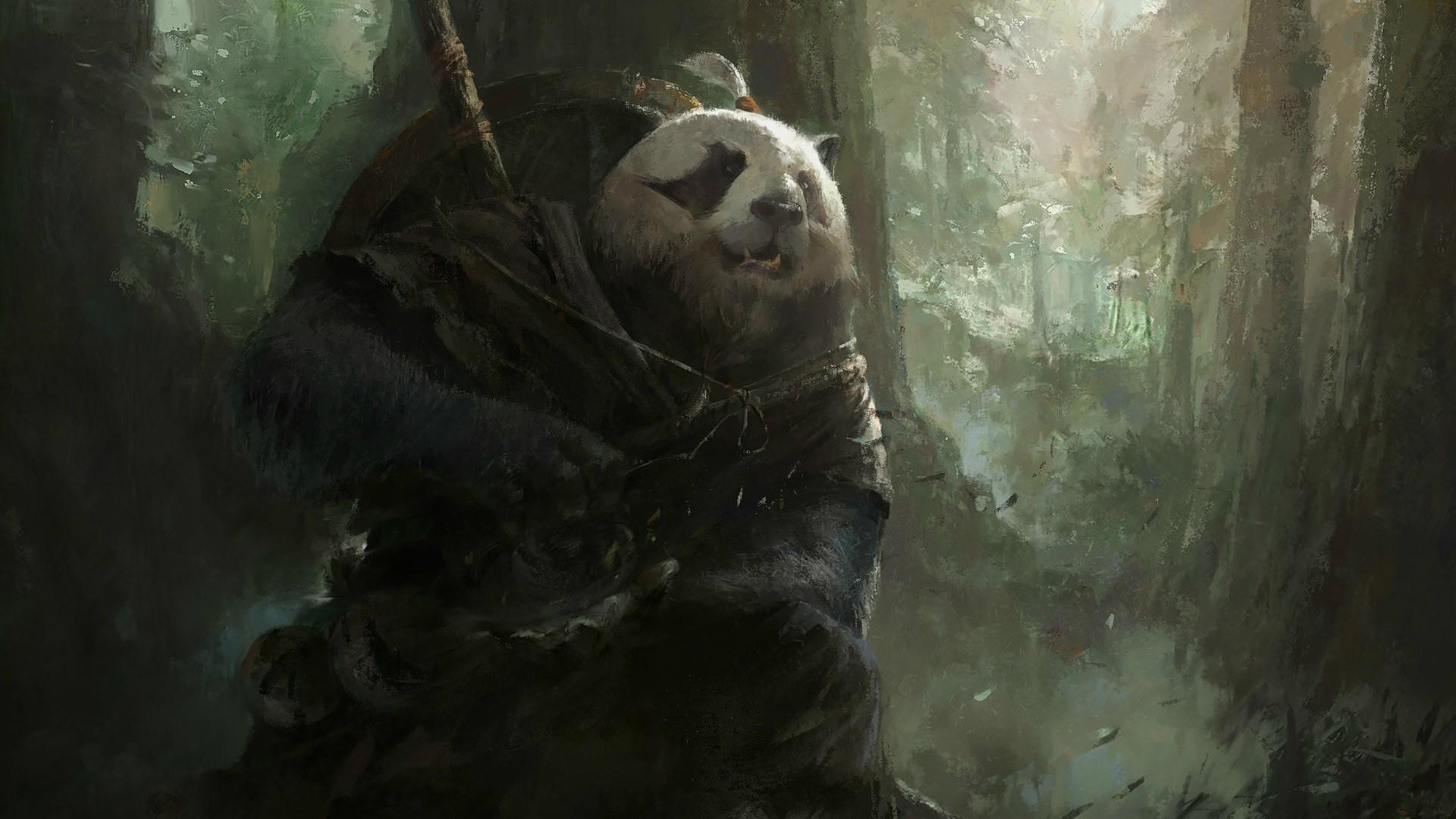 Jungle Wallpaper World Of Warcraft: Wallpaper : Fantasy Art, World Of Warcraft, Magic, Panda