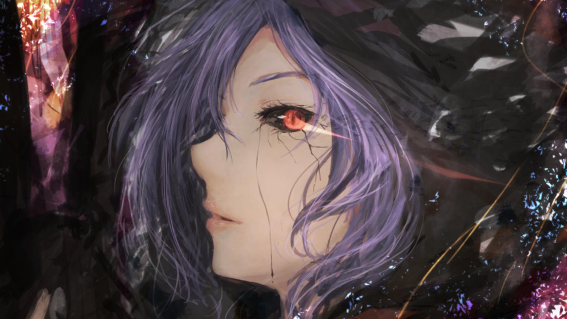 Wallpaper : fantasy art, anime girls, Tokyo Ghoul, Kirishima