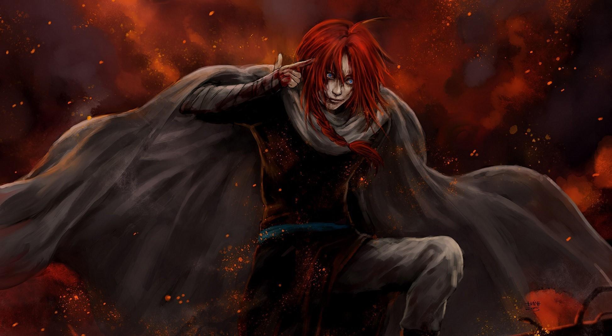 Fondos De Pantalla Arte Fantasía Anime Obra De Arte