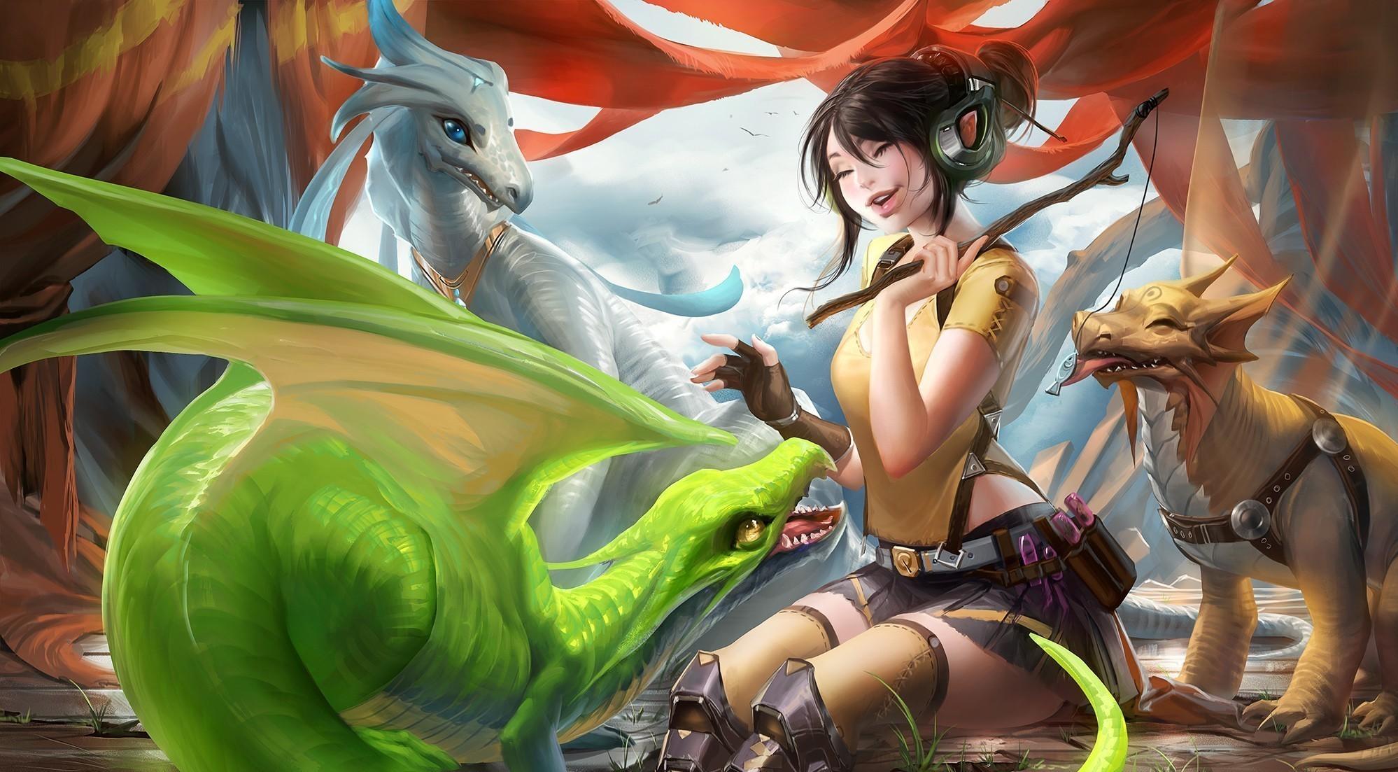 Аниме связанные с драконами