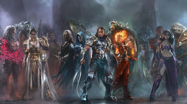 Wallpaper Fantasy Art Anime Hero Warrior Magic The Gathering