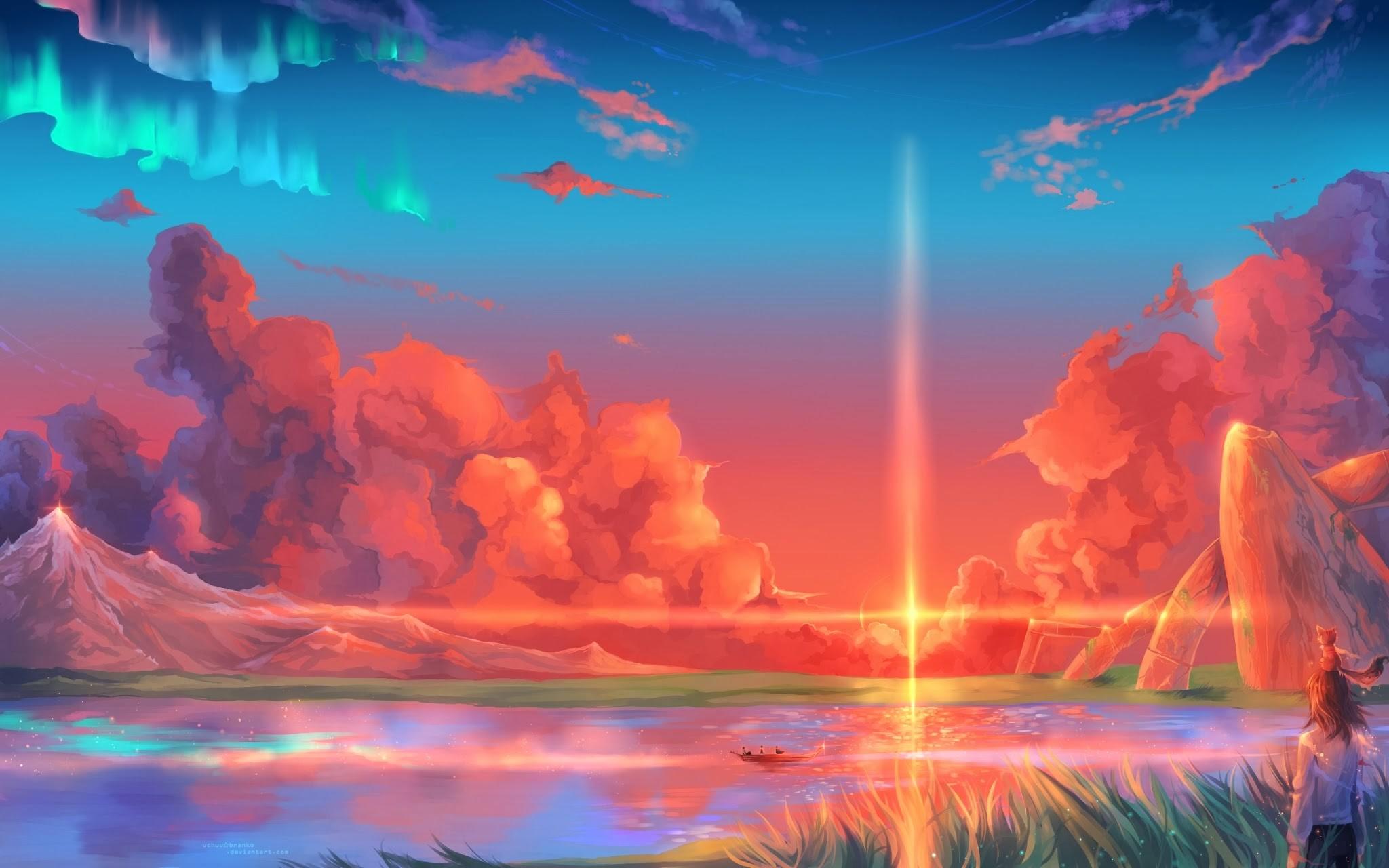 добавляем картинки фантастическое небо гиф брат вынужден довольствоваться