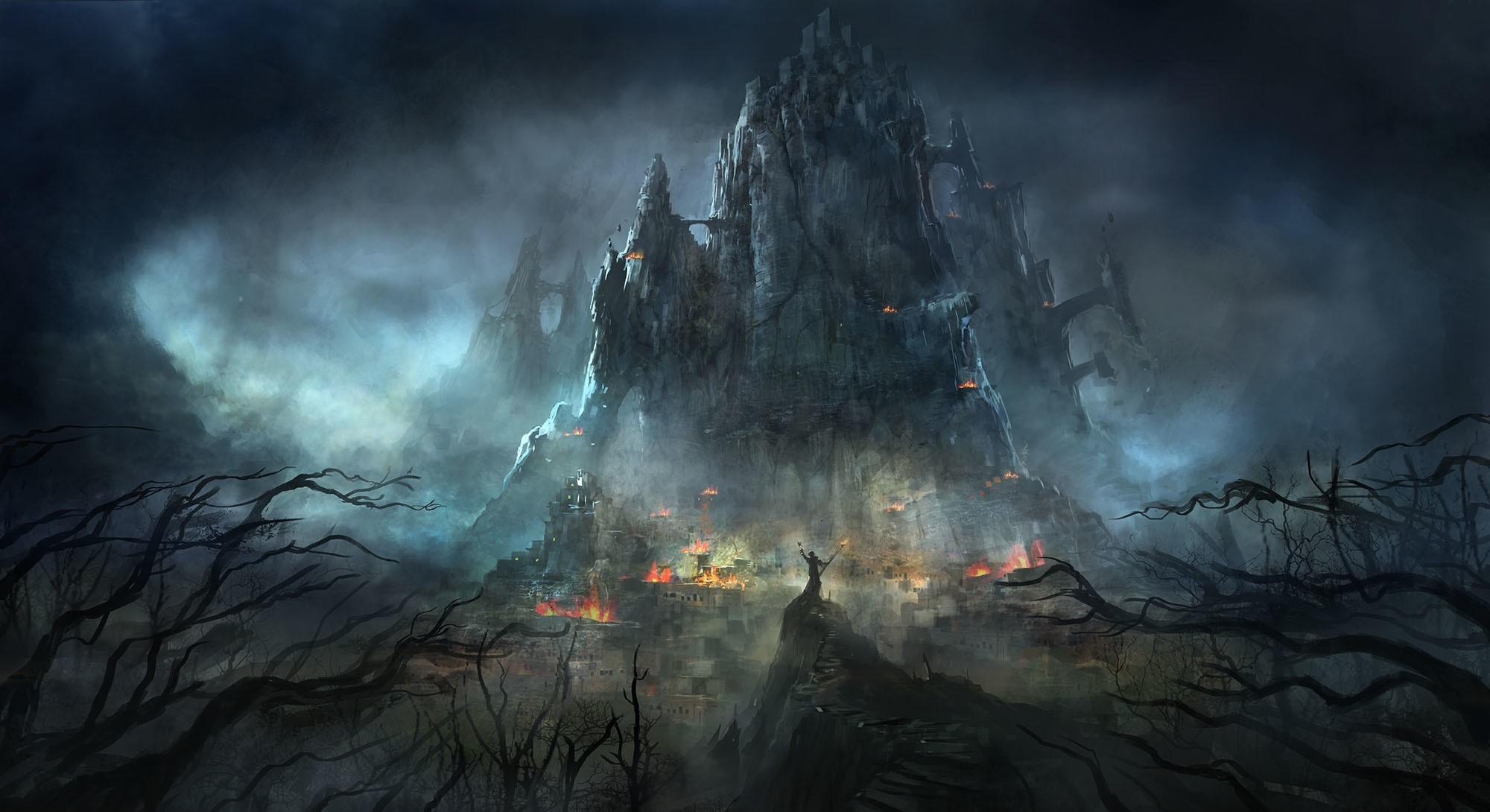 Картинки фэнтези мрак