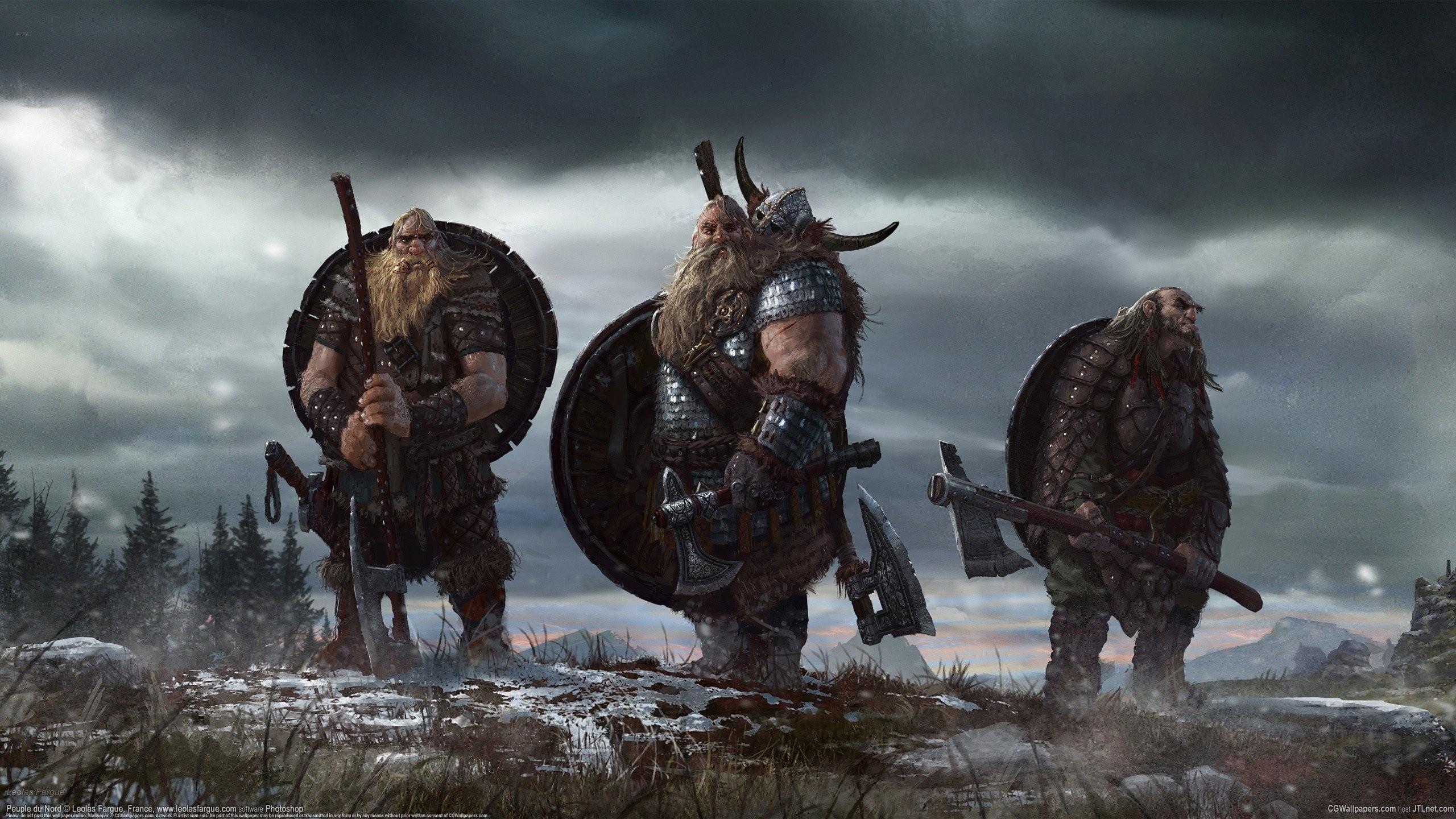 Fantasy Art Artwork Vikings Concept Warrior Axe Nordic Shield Axes Mythology Viking Screenshot Fictional Character