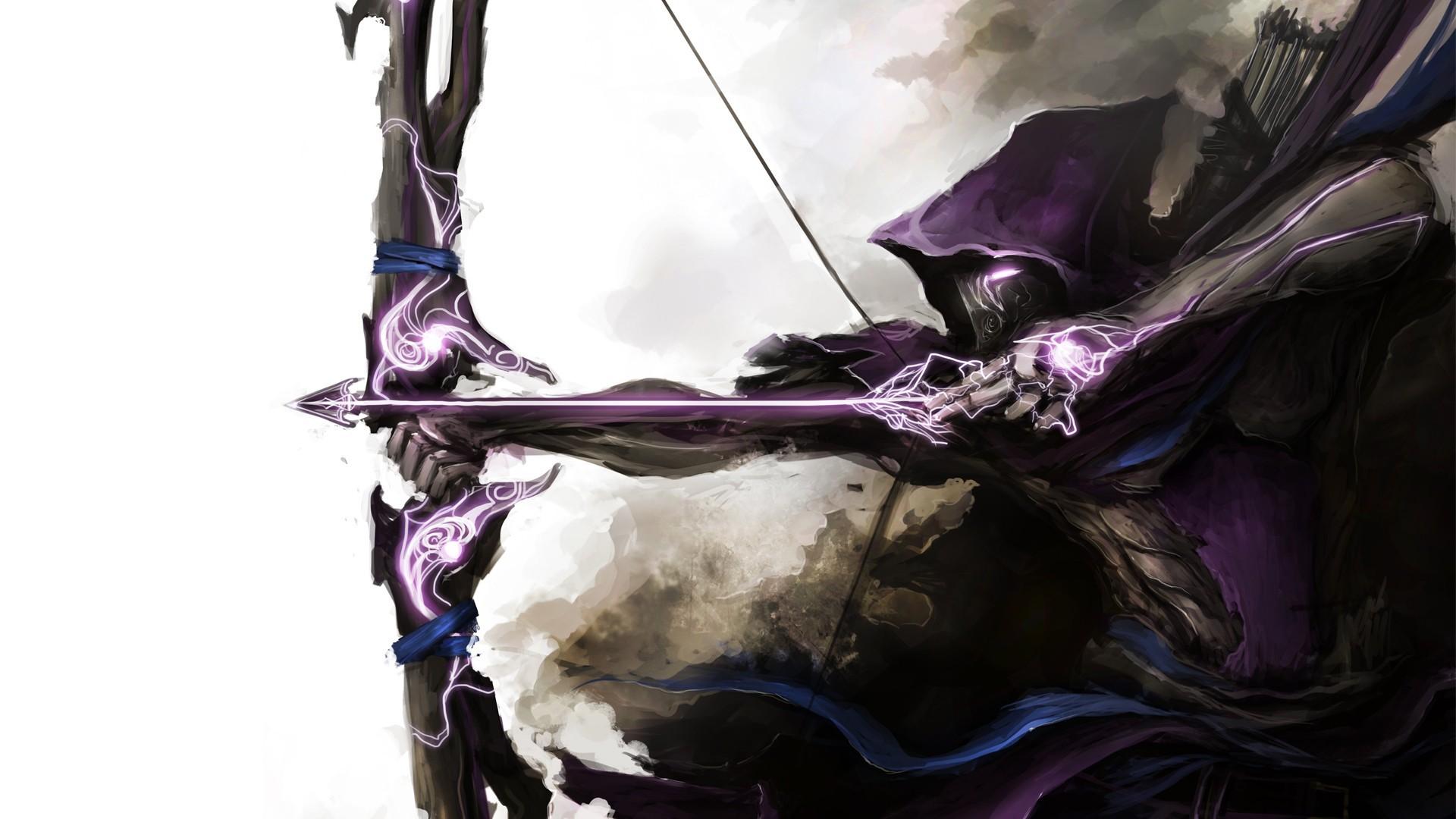 Fantasy Art Bow Archer Arrow Hawkeye Bridle