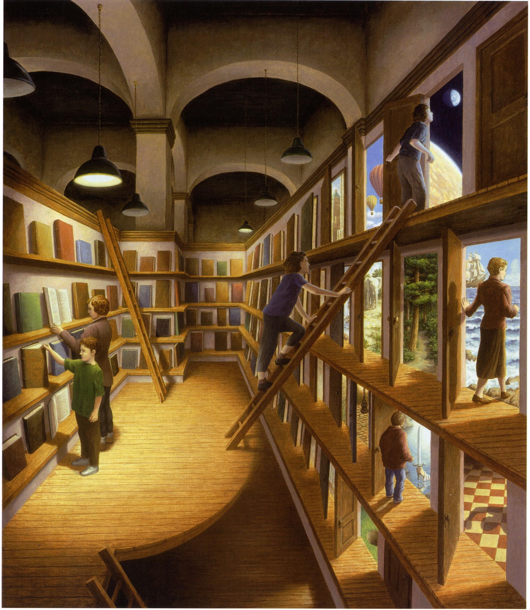 Книга картинки иллюзии