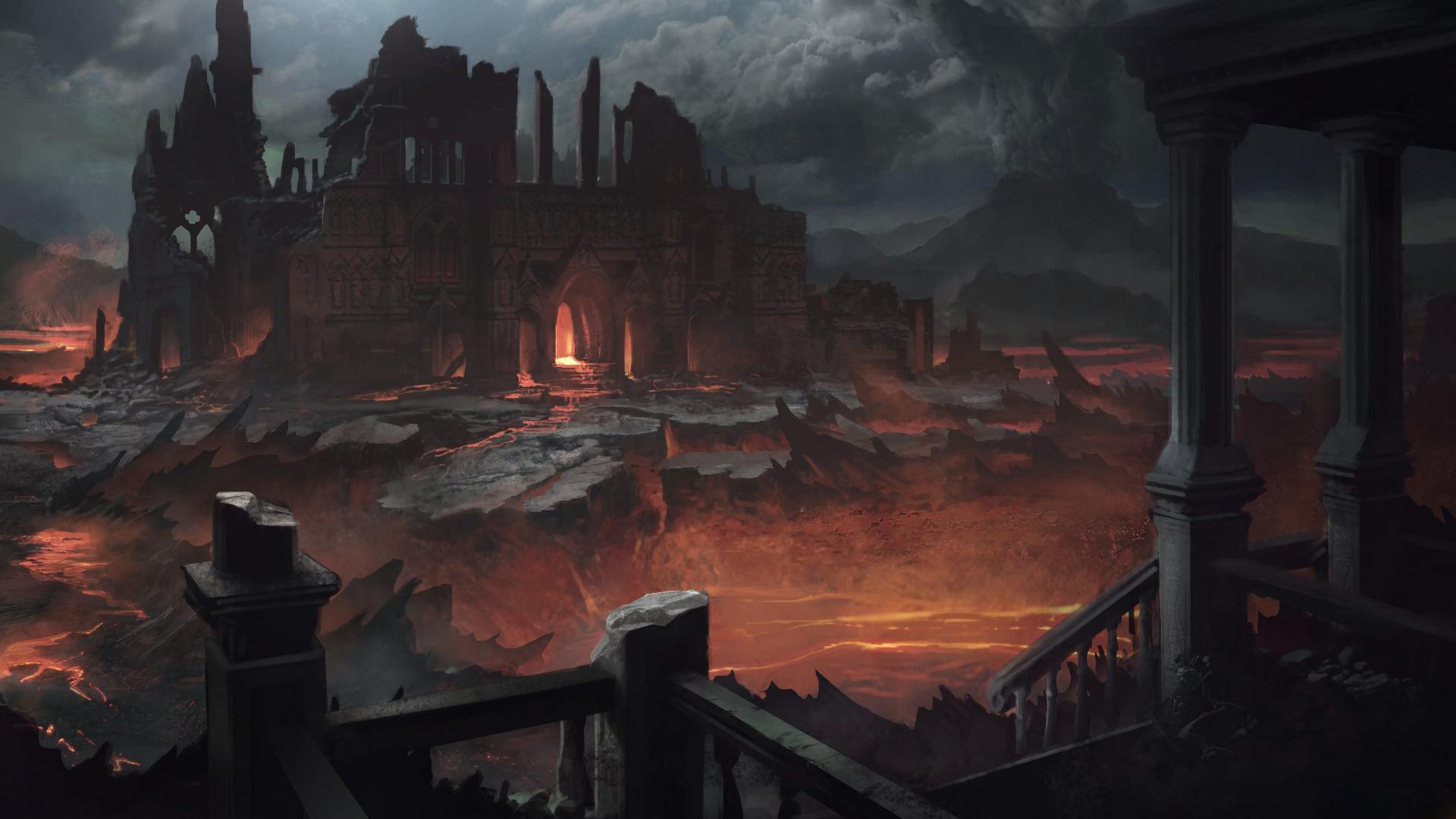 картинки замки из ада ледяного