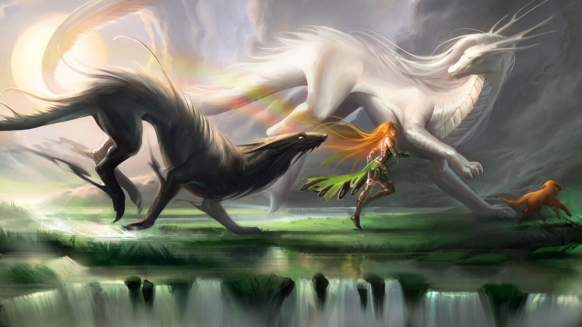 Картинки зверь фэнтези