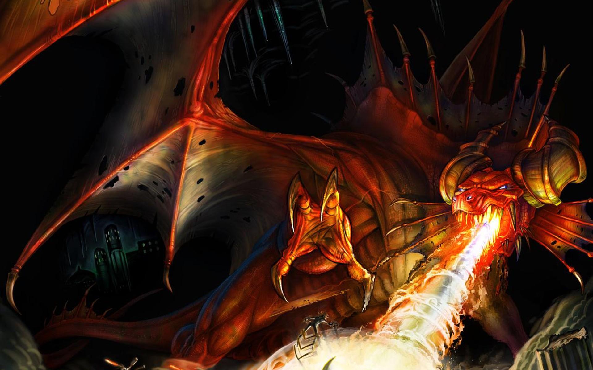 вы, демонические драконы картинки смертельного ранения