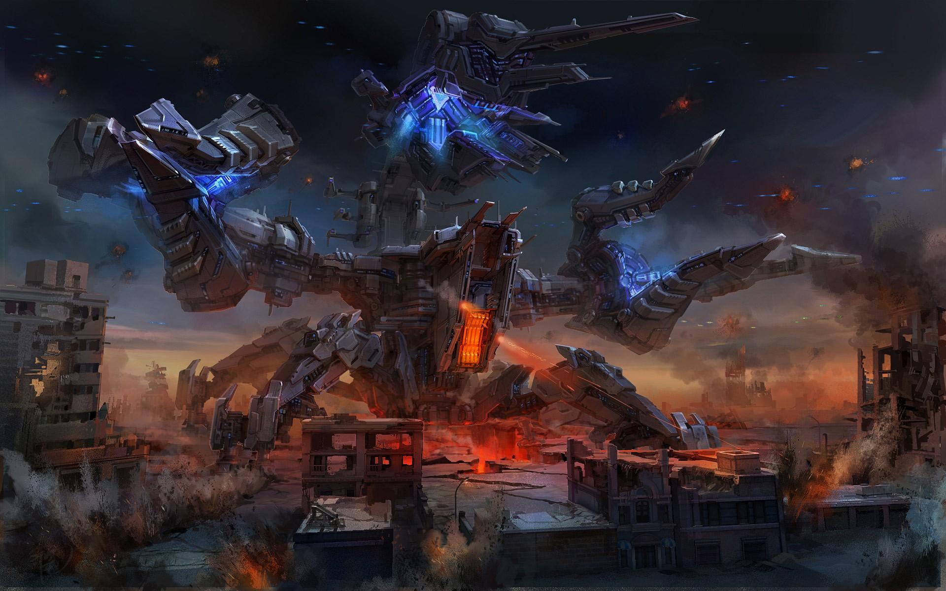 sci fi art - HD1600×1000