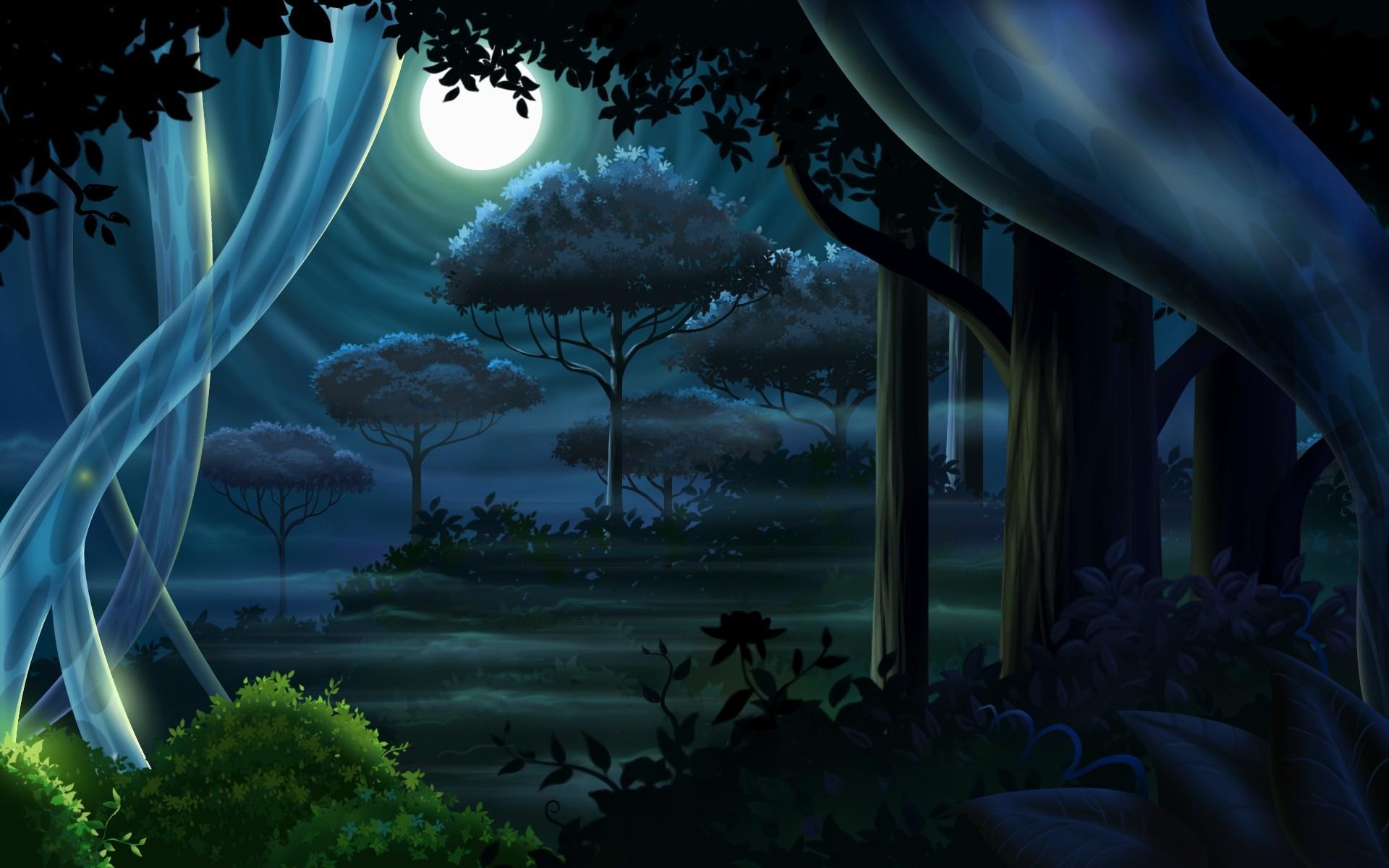 Картинки сказочная ночь, хотели мной