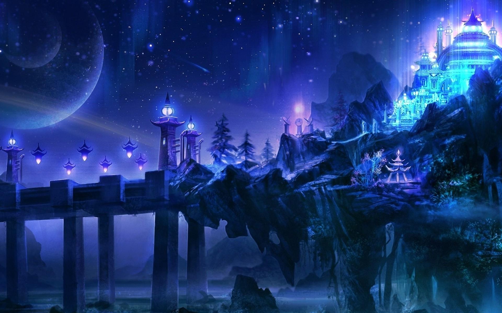 Картинки ночной мир