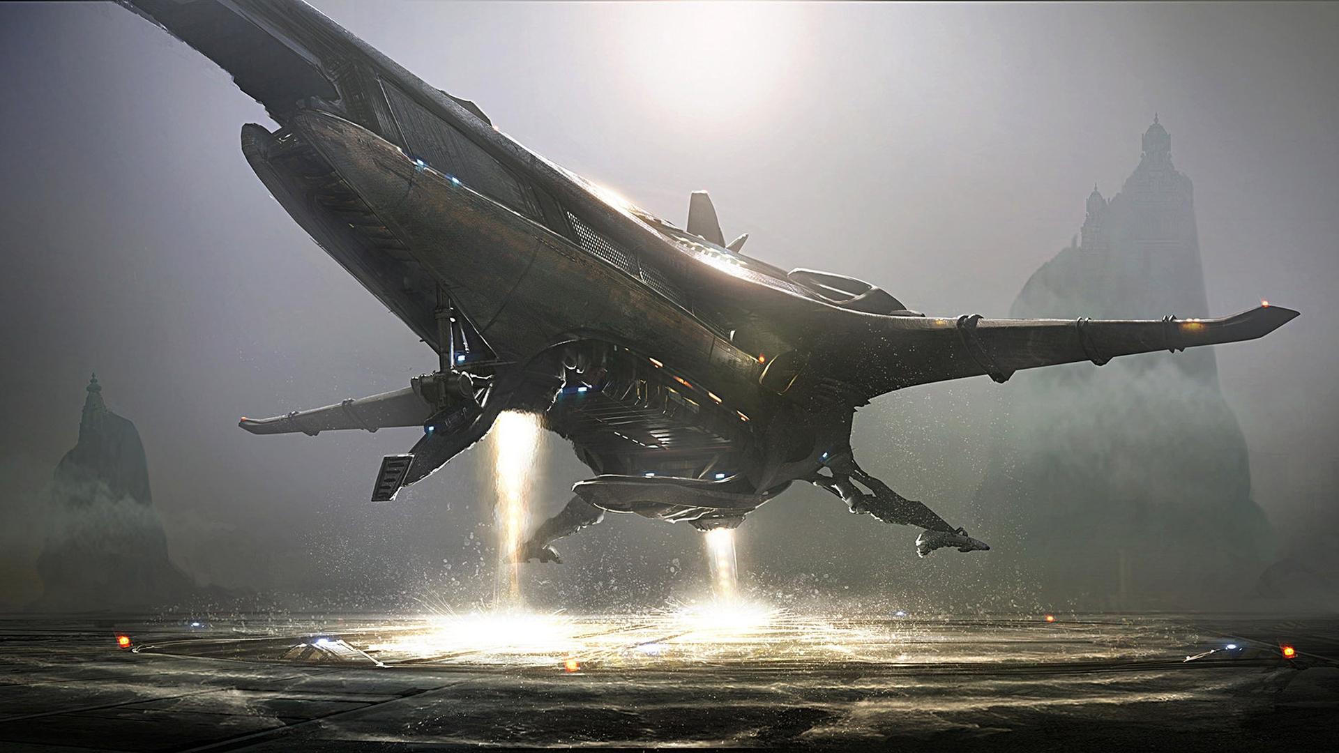 Картинка инопланетный корабль
