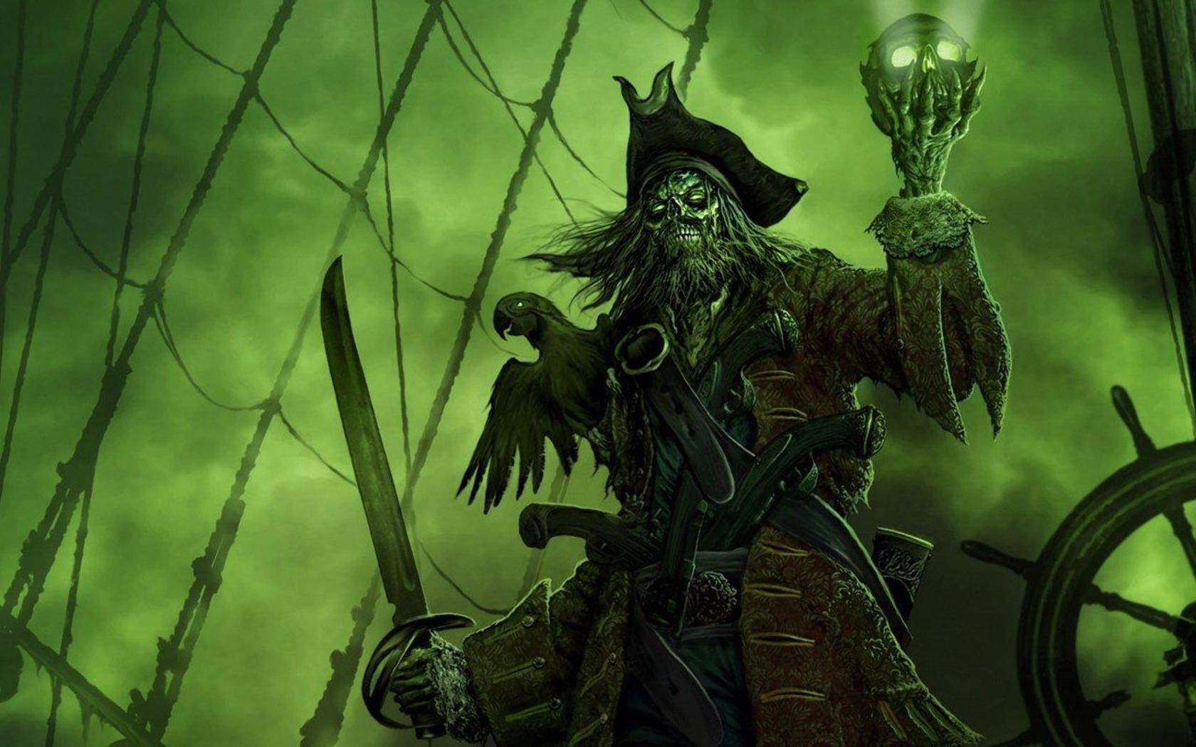 Пираты страшные картинки