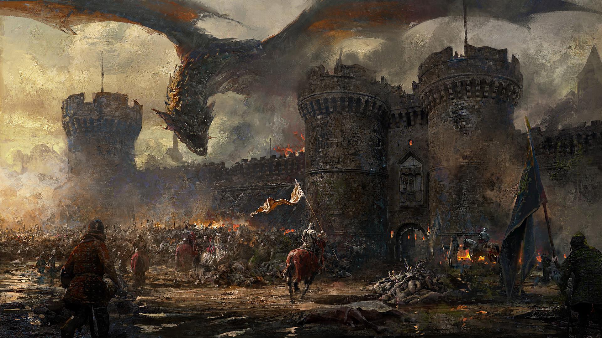 является третьи картинки на тему средневековых сражений и фэнтези развелись его