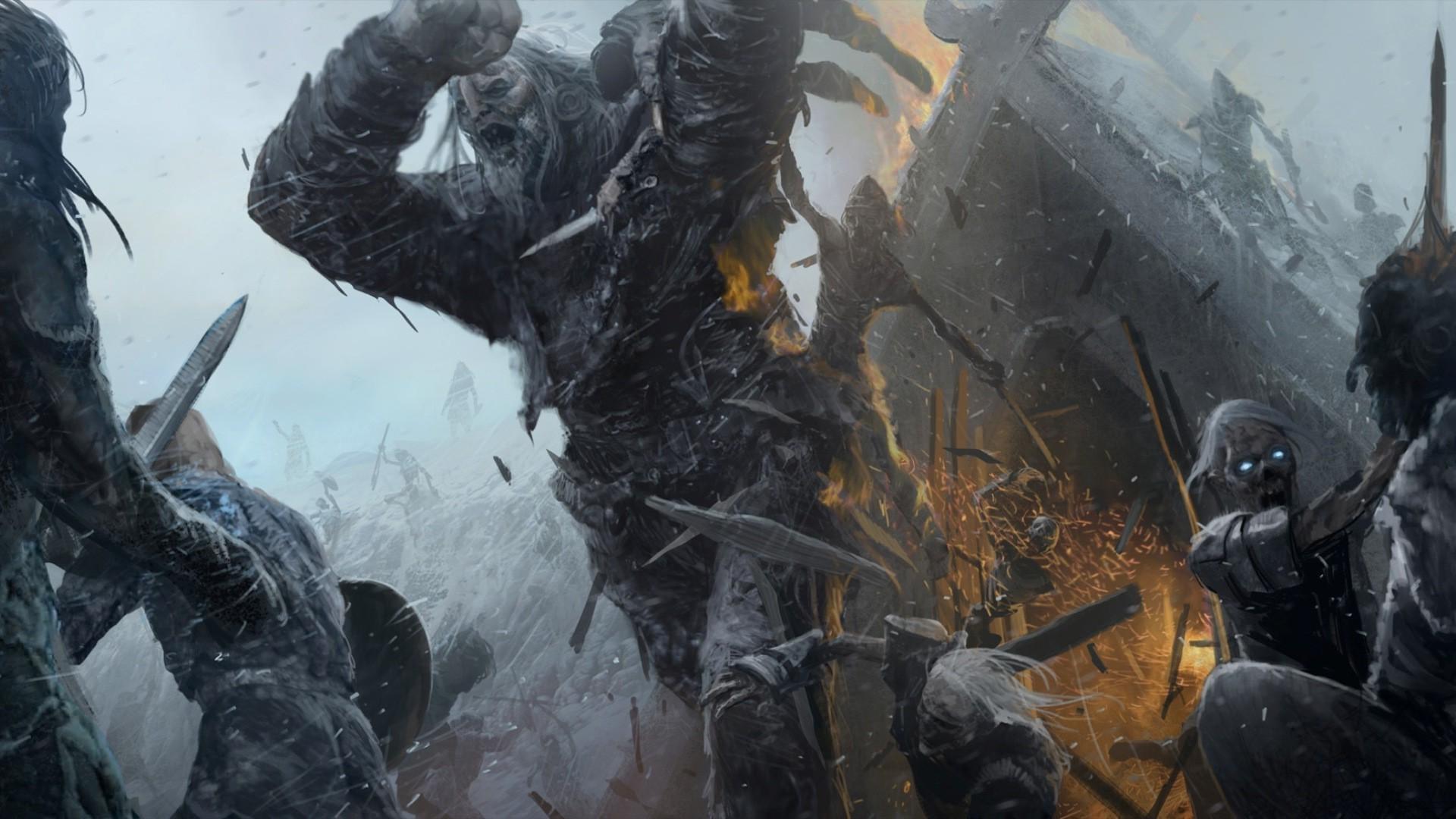 Hintergrundbilder Fantasiekunst Soldat Game Of Thrones Riese