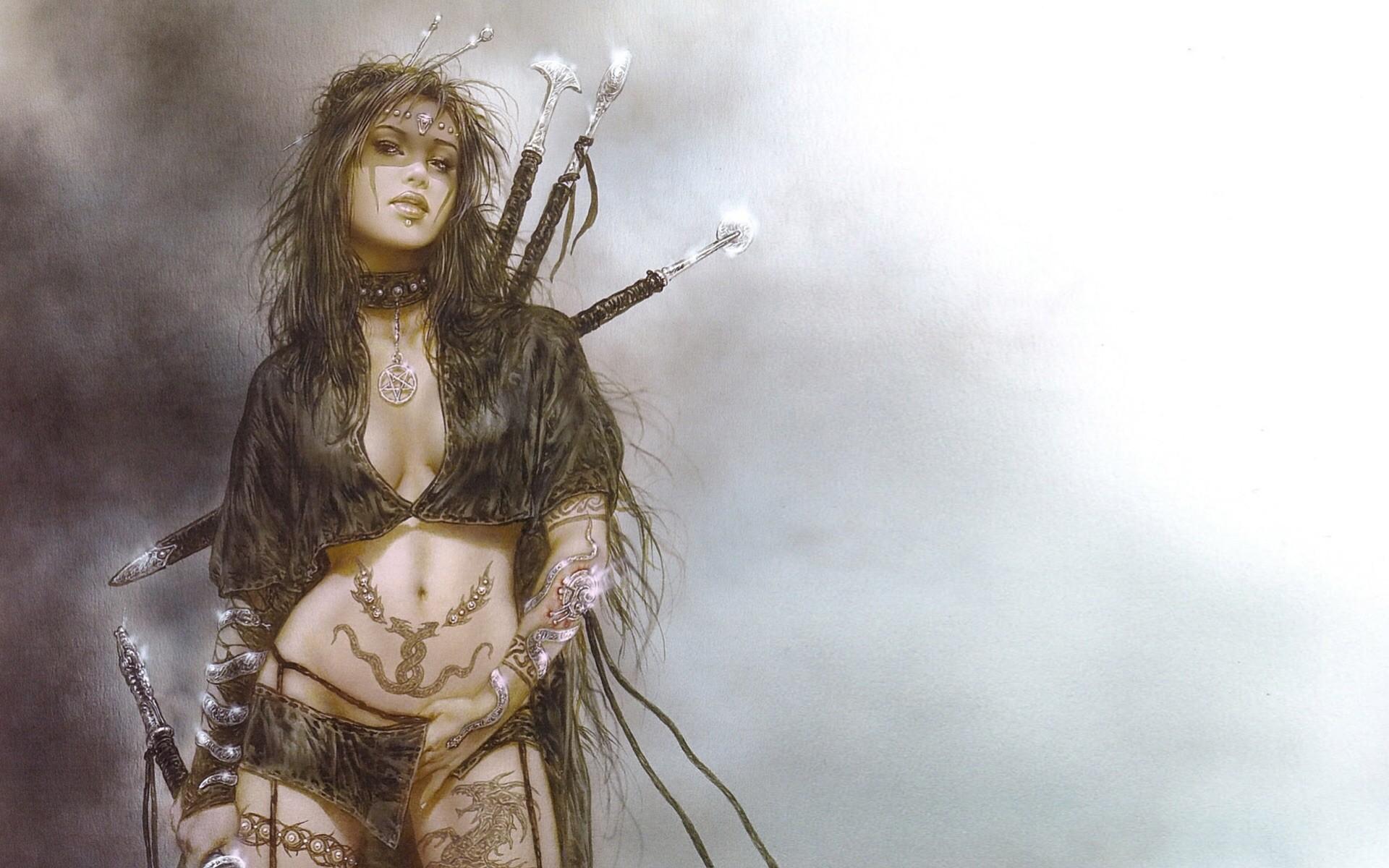 Открытка для женщины-воина
