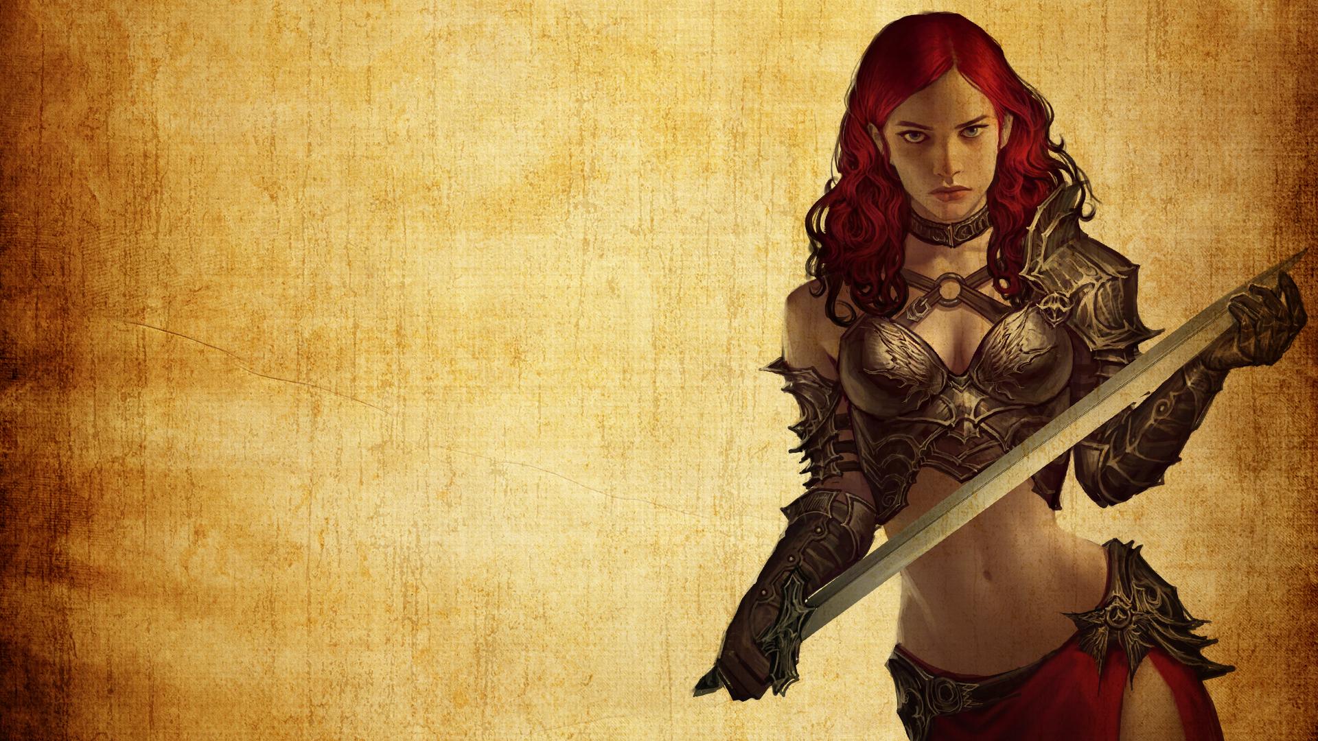 Fantasy Women Digital Art