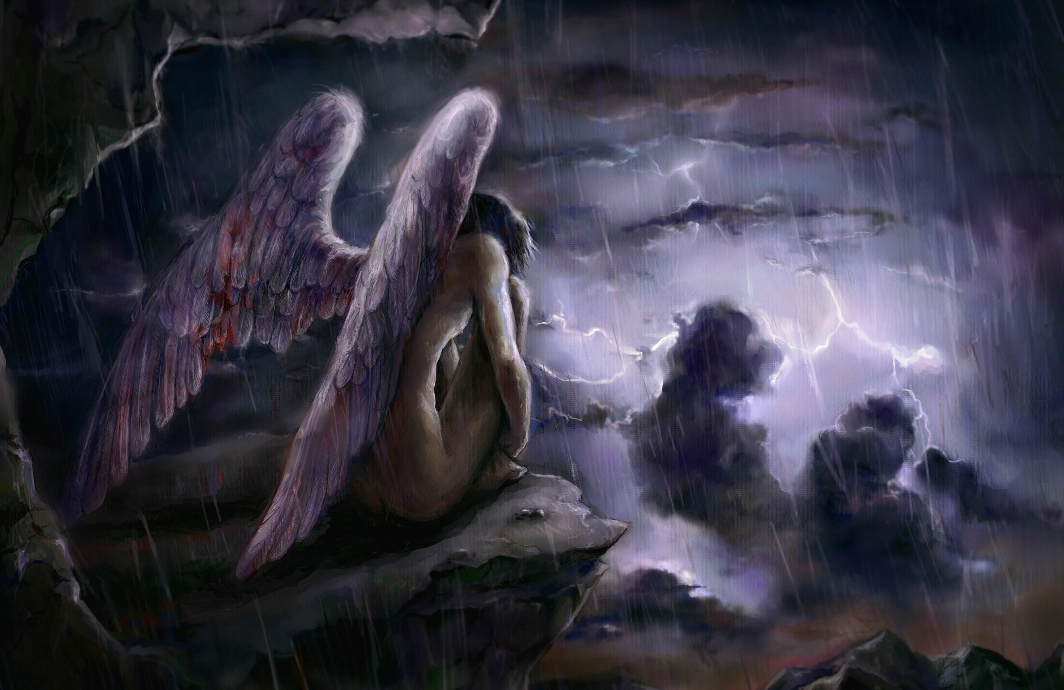 картинки безликий ангел
