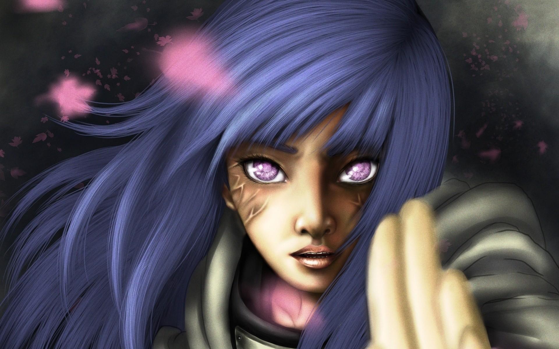 fantasy girl anime anime girls manga blue black hair Naruto Shippuuden hair Hyuuga Hinata Toy eye darkness screenshot computer wallpaper fictional character 209718