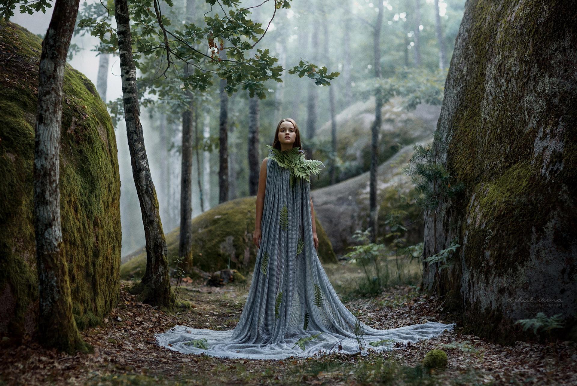 women Outdoors, Women, Model, Fantasy Art, Nature