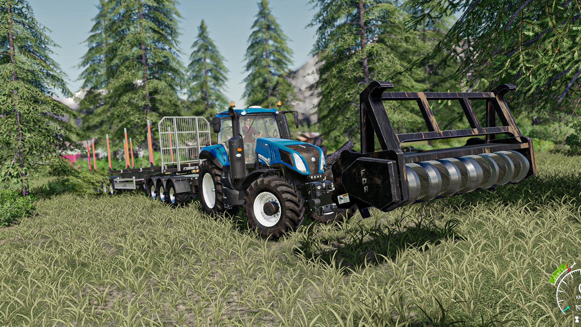 Wallpaper Farming Simulator 2019 Farming Simulator Tractors Car Forest By B Nyamin Youtube New Holland New Holland T8 1920x1080 Bigsong 1873415 Hd Wallpapers Wallhere