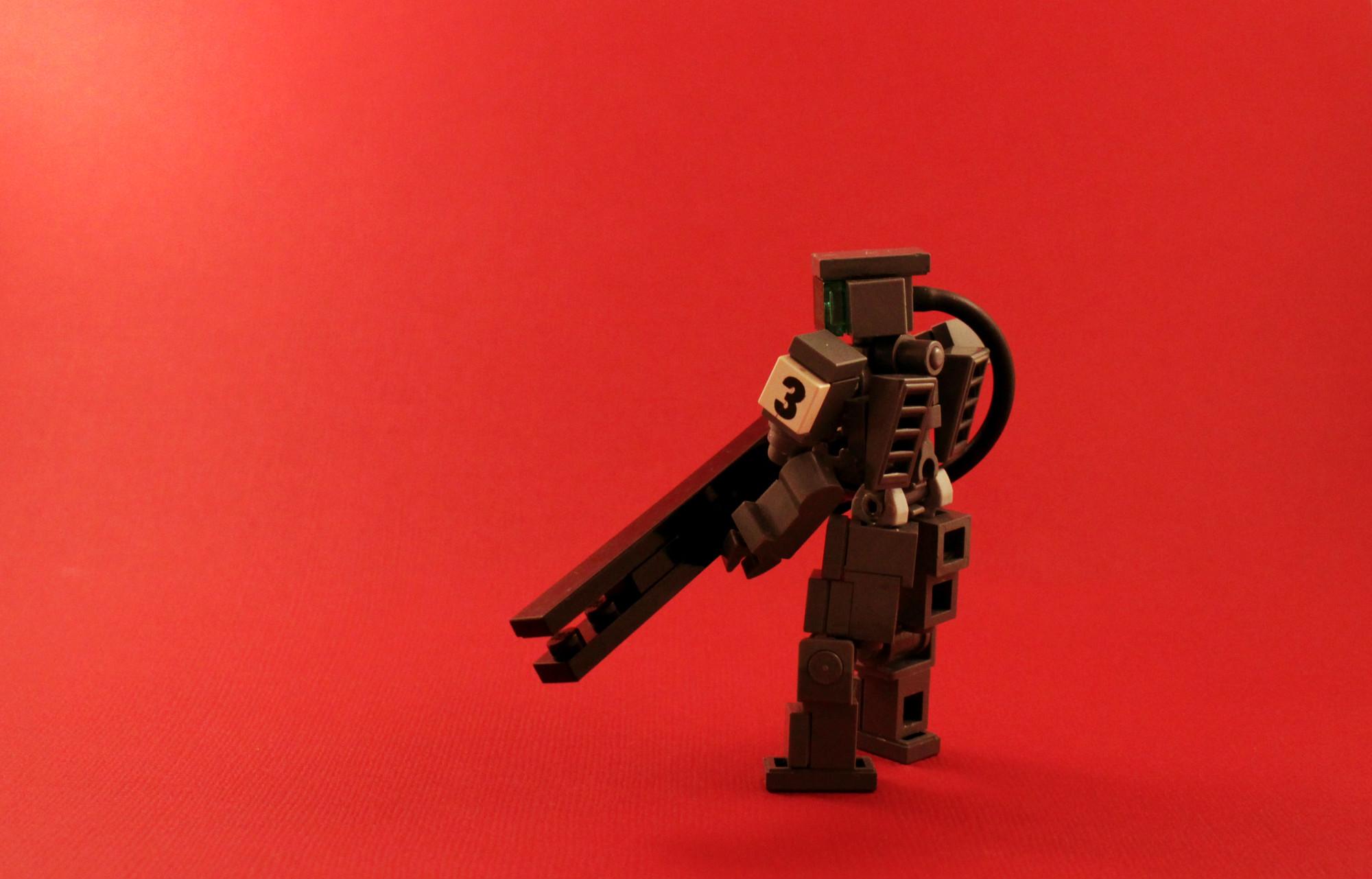 Hintergrundbilder Fiktion Rot Inspiration Roboter Groß Gewehr